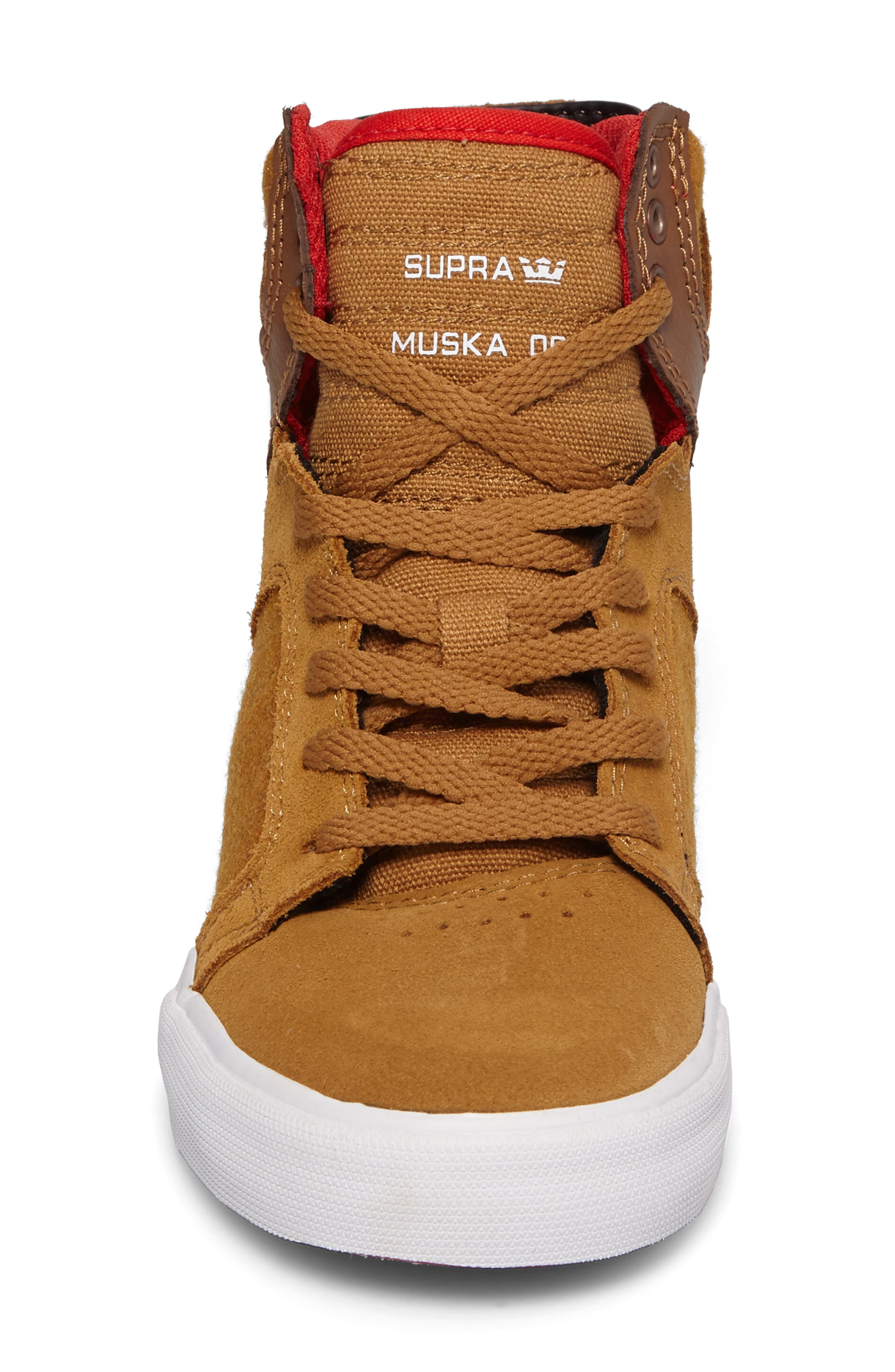 Skytop High Top Sneaker,                             Alternate thumbnail 4, color,                             257