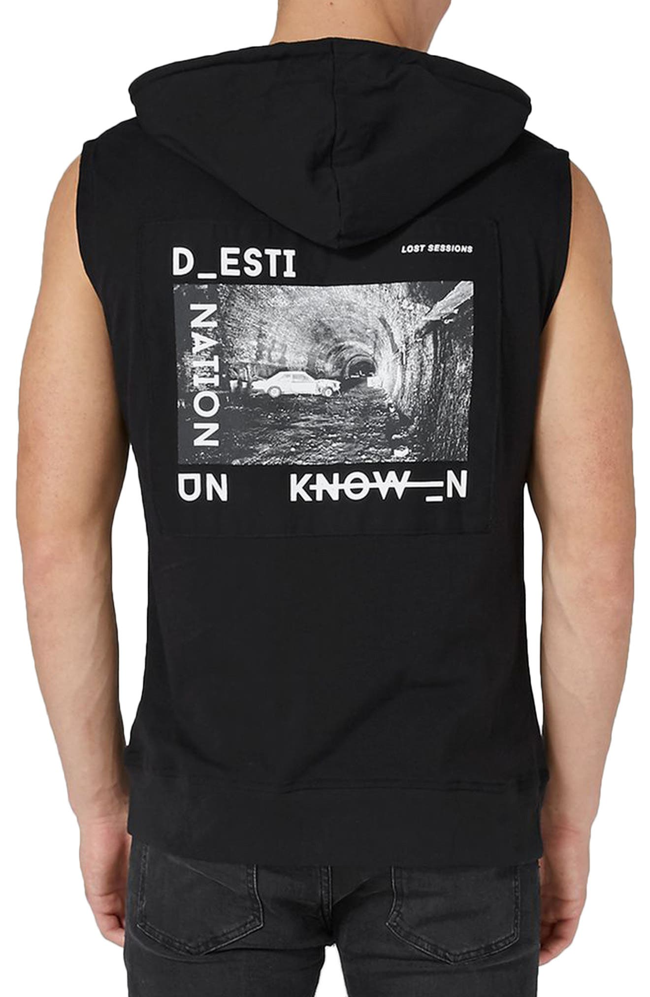 Known Logo Graphic Hooded Tank,                             Alternate thumbnail 2, color,