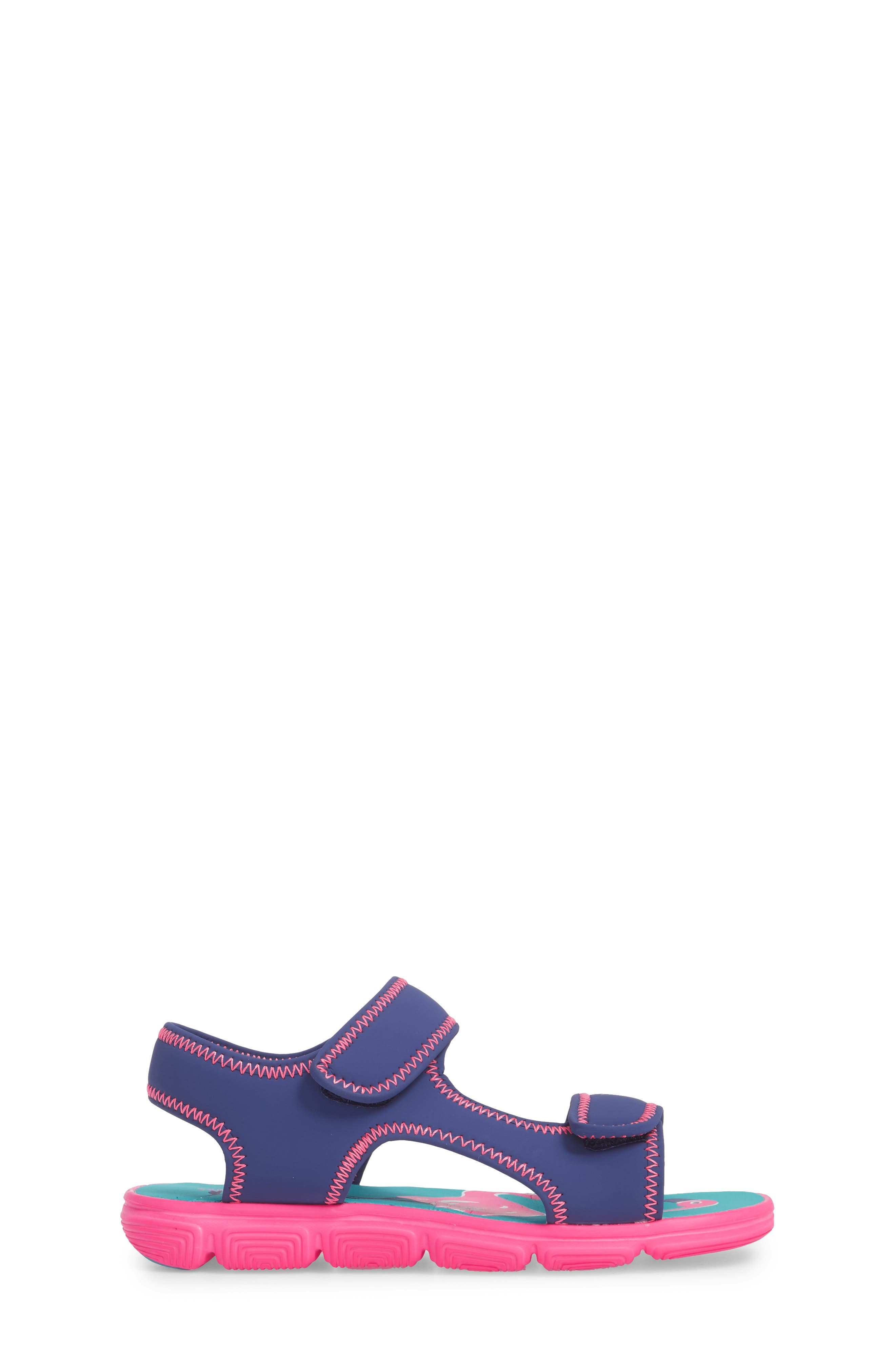Everly Water Sandal,                             Alternate thumbnail 3, color,