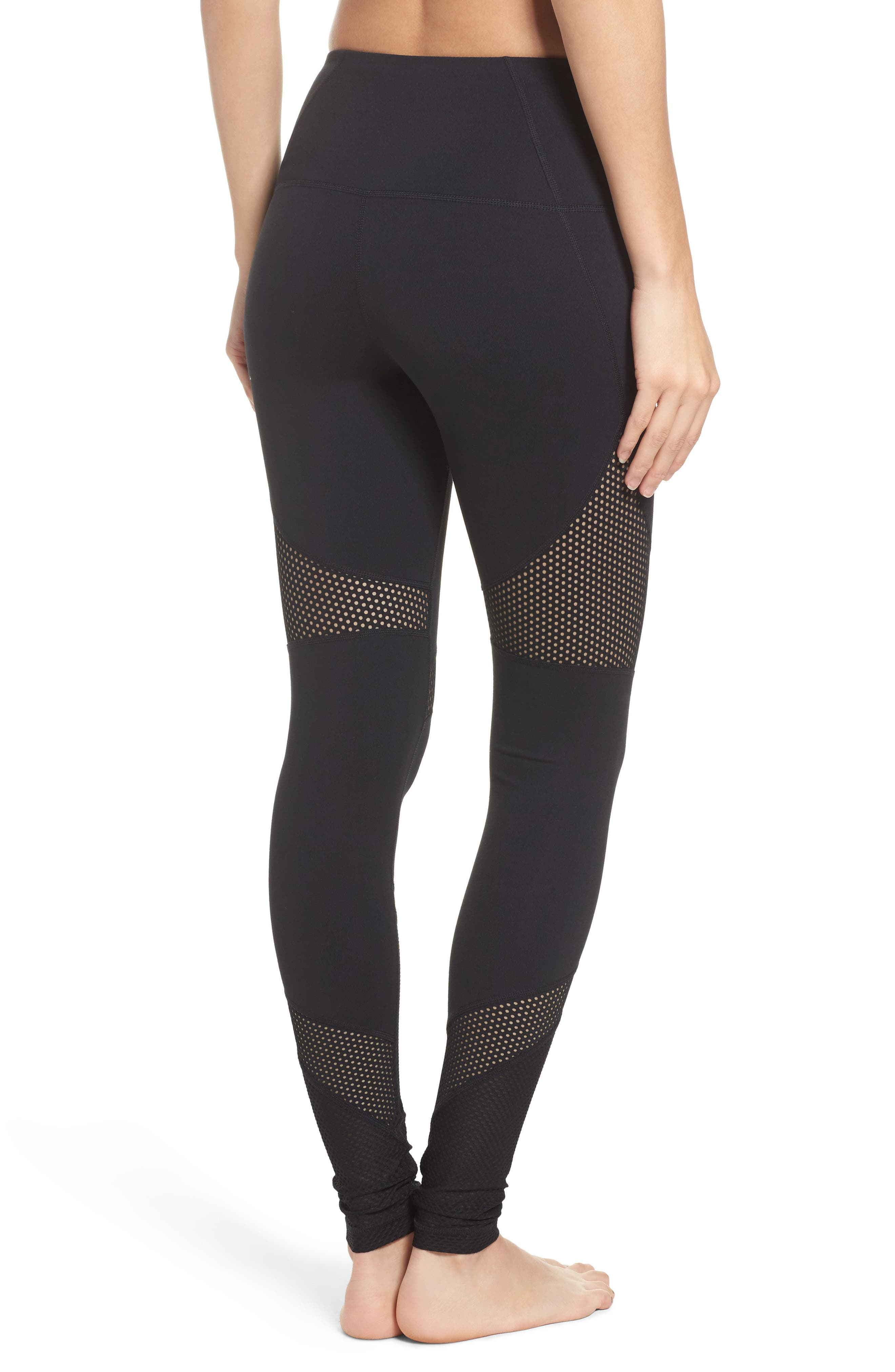 Out of Bounds High Waist Leggings,                             Alternate thumbnail 2, color,                             001