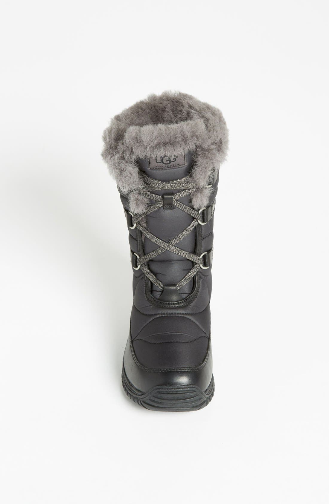 UGG LORIEN BOOT,                             Alternate thumbnail 4, color,                             001