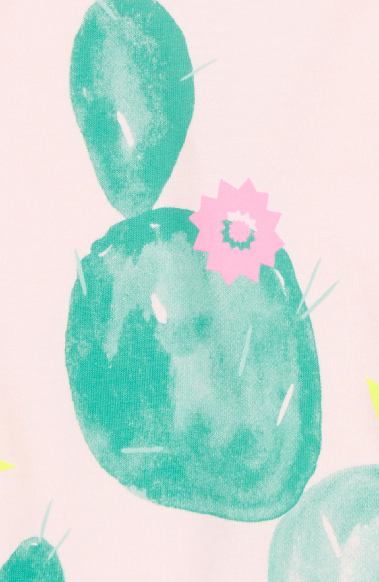 Prickly Cacti Graphic Tee,                             Alternate thumbnail 2, color,