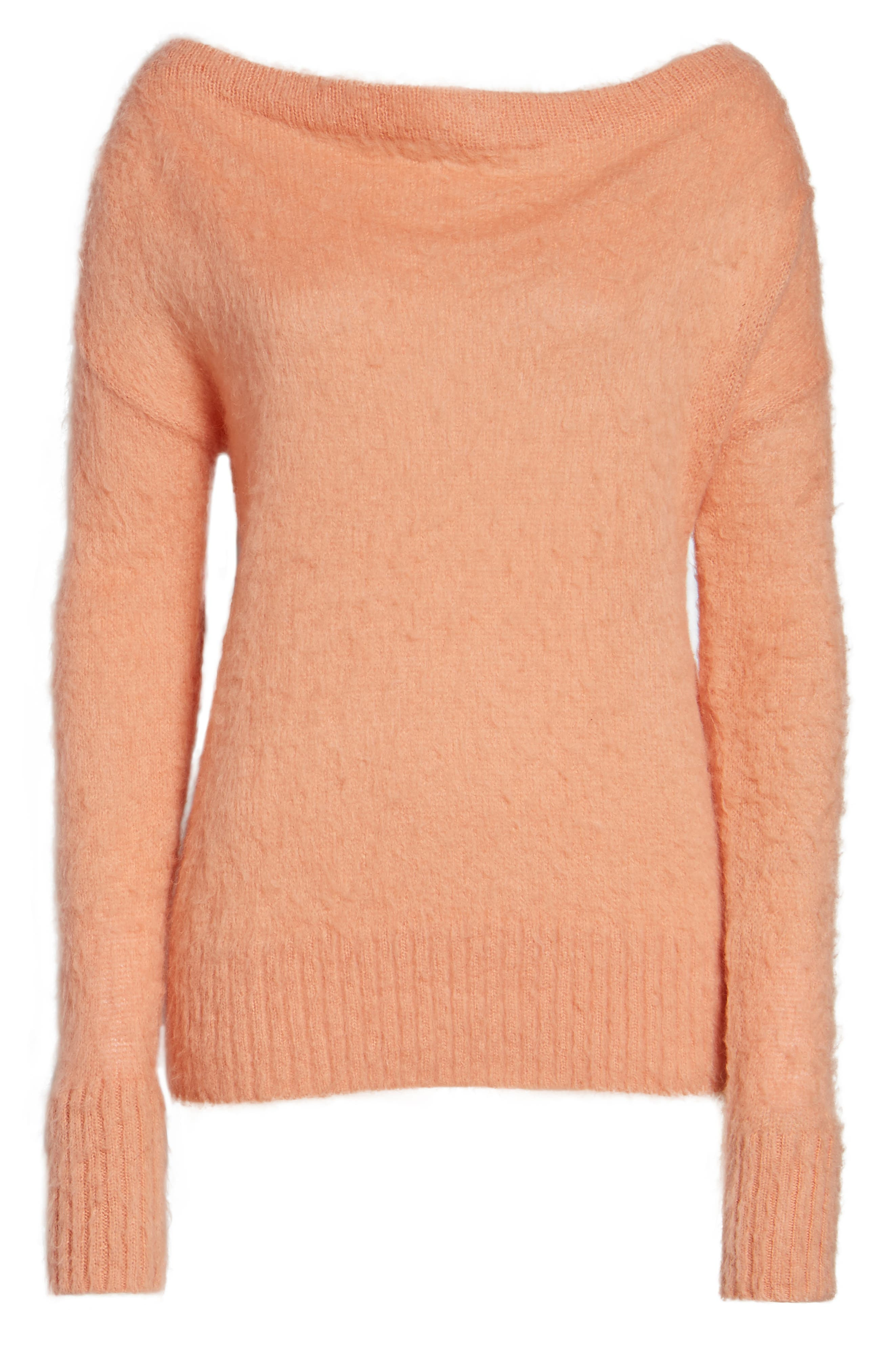 Long Sleeve Brushed Sweater,                             Alternate thumbnail 36, color,