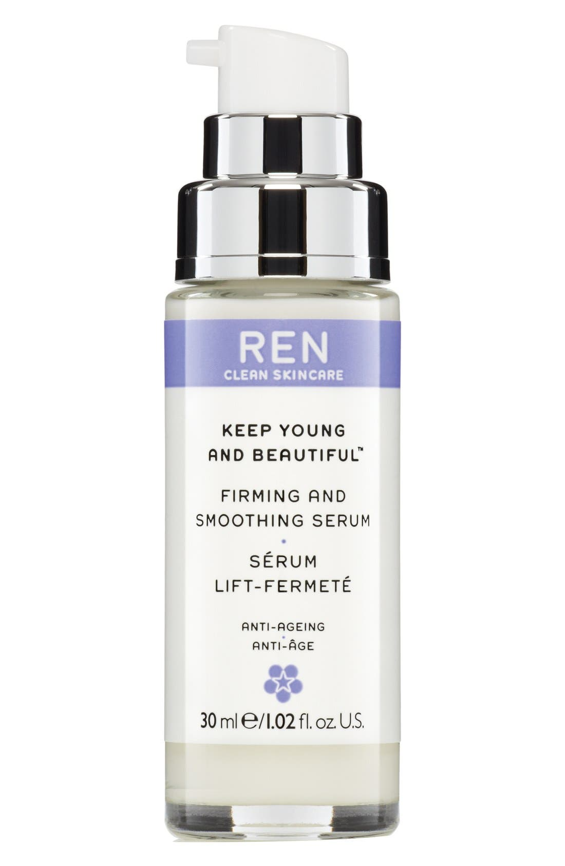 SPACE.NK.apothecary REN Keep Young and Beautiful Firming and Smoothing Serum,                             Alternate thumbnail 5, color,                             000