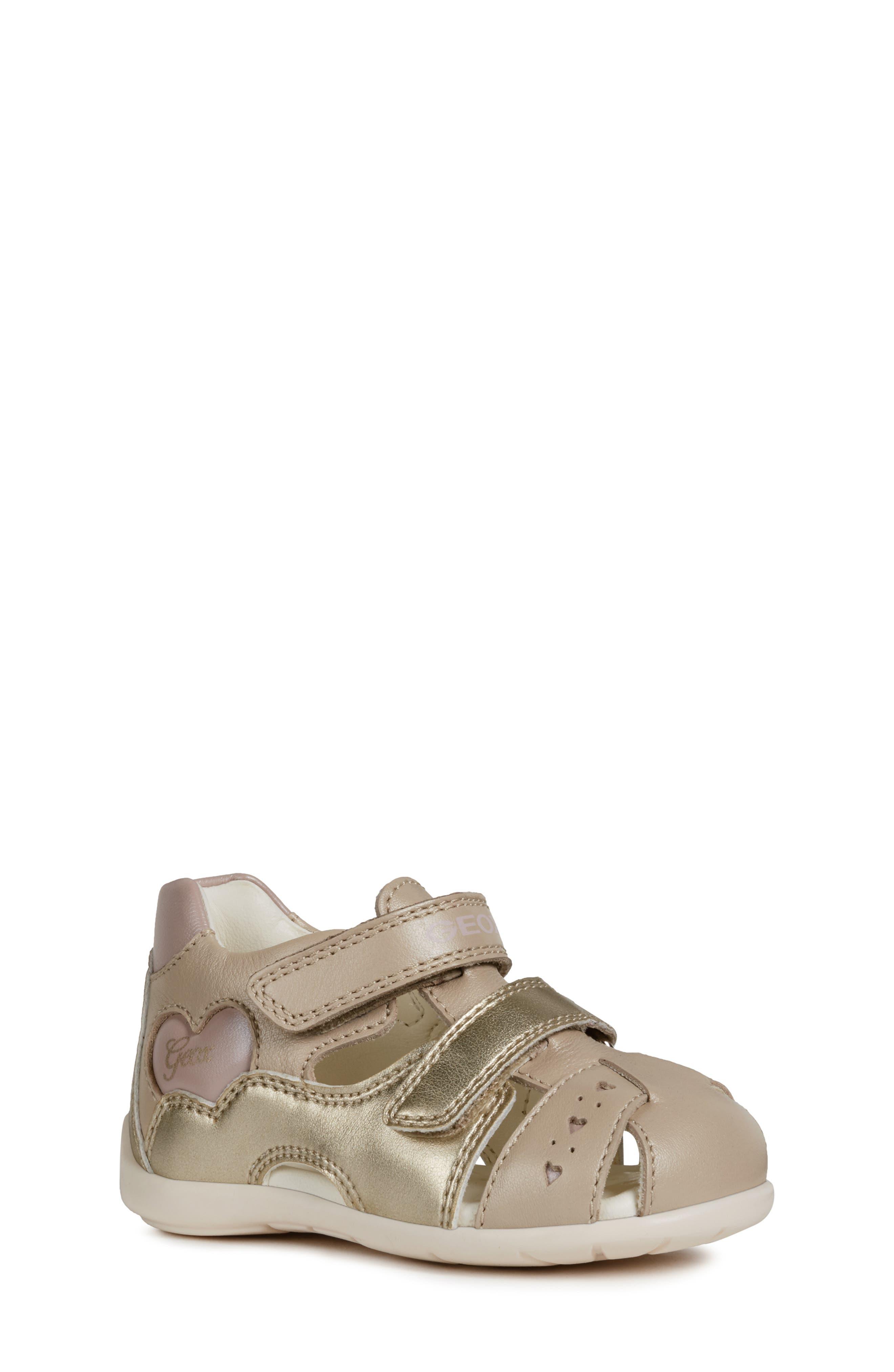 Girls Geox Kaytan 52 Shimmery Sandal