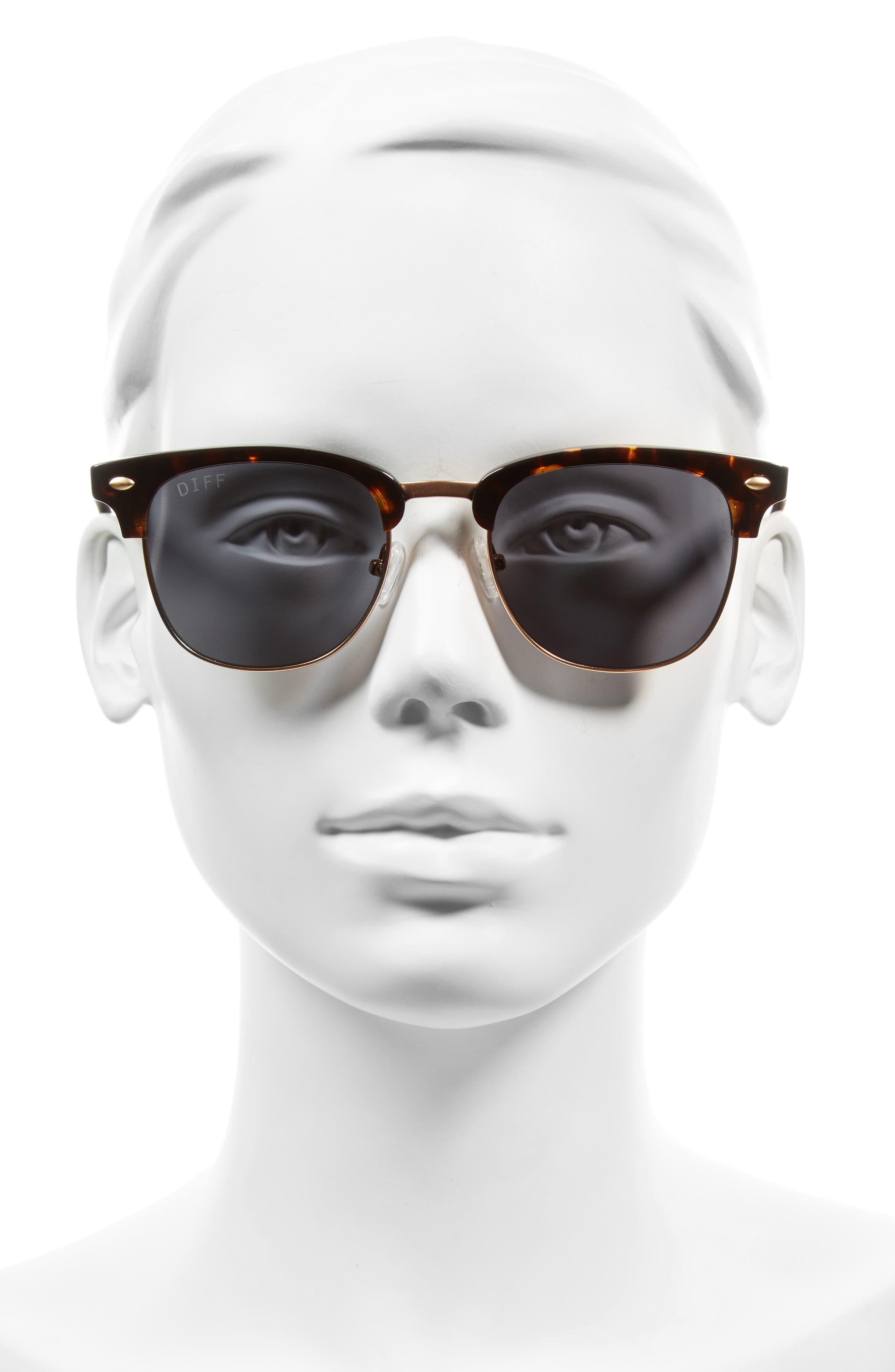 Barry 51mm Polarized Retro Sunglasses,                             Alternate thumbnail 11, color,