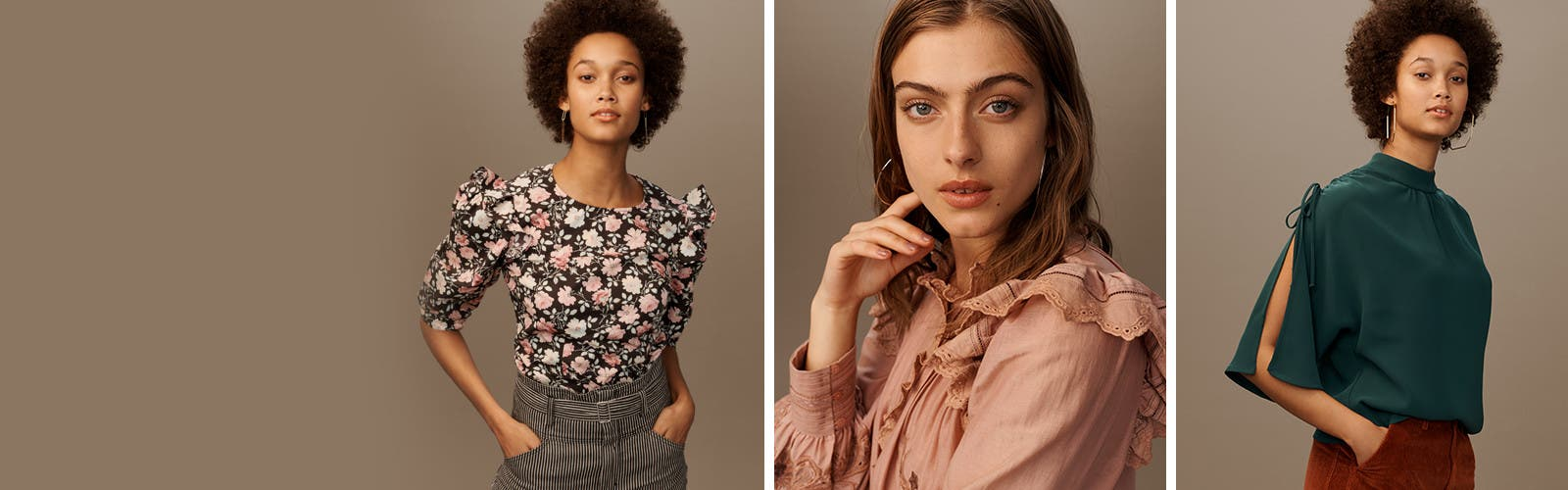 Fall tops have landed.