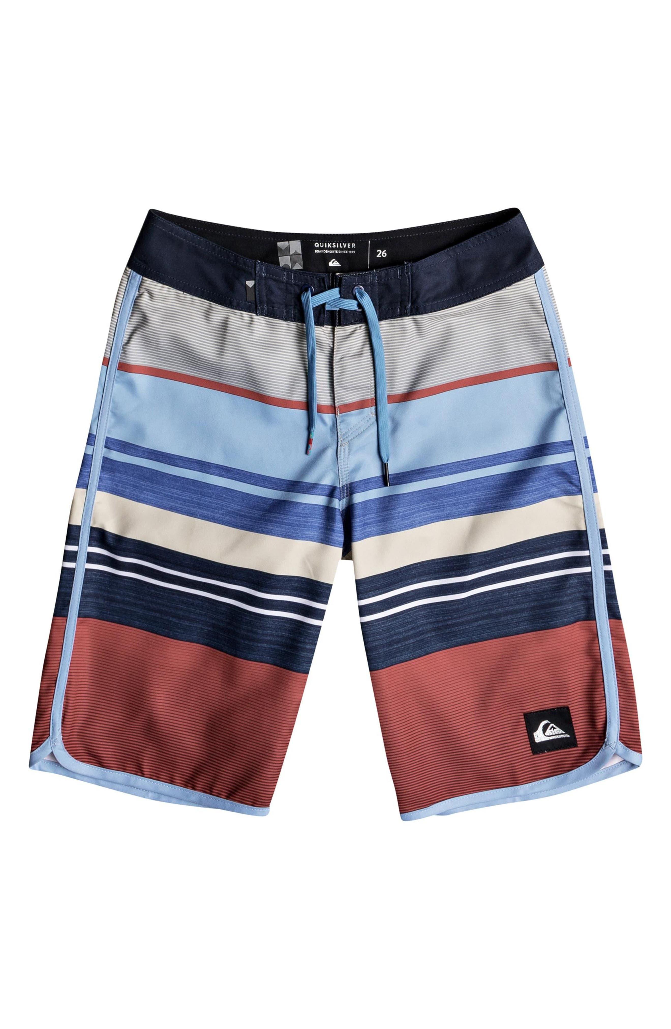 Eye Scalloped Board Shorts,                             Main thumbnail 2, color,