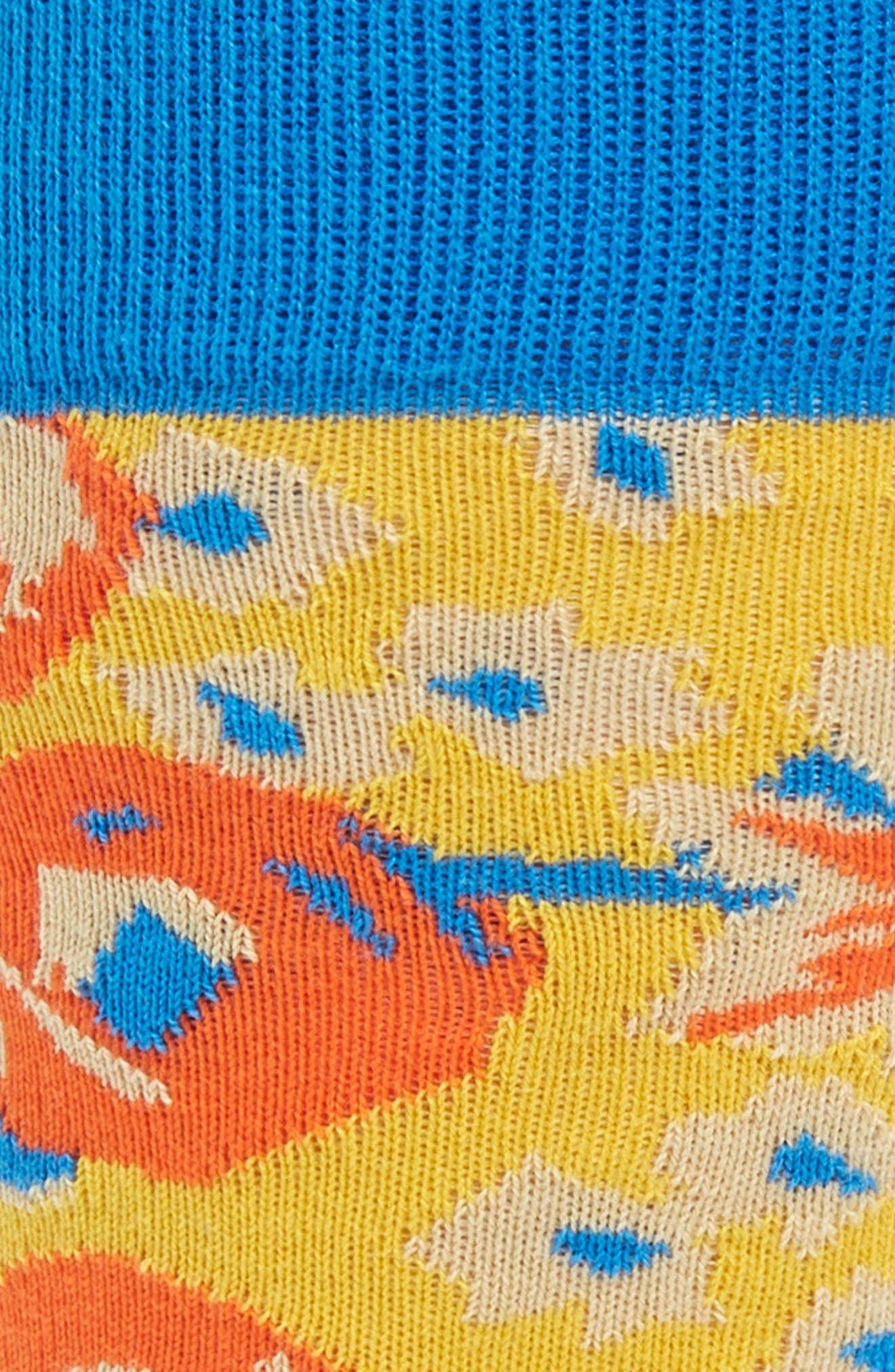 Wiz Khalifa Pretty Nights Socks,                             Alternate thumbnail 2, color,                             ORANGE