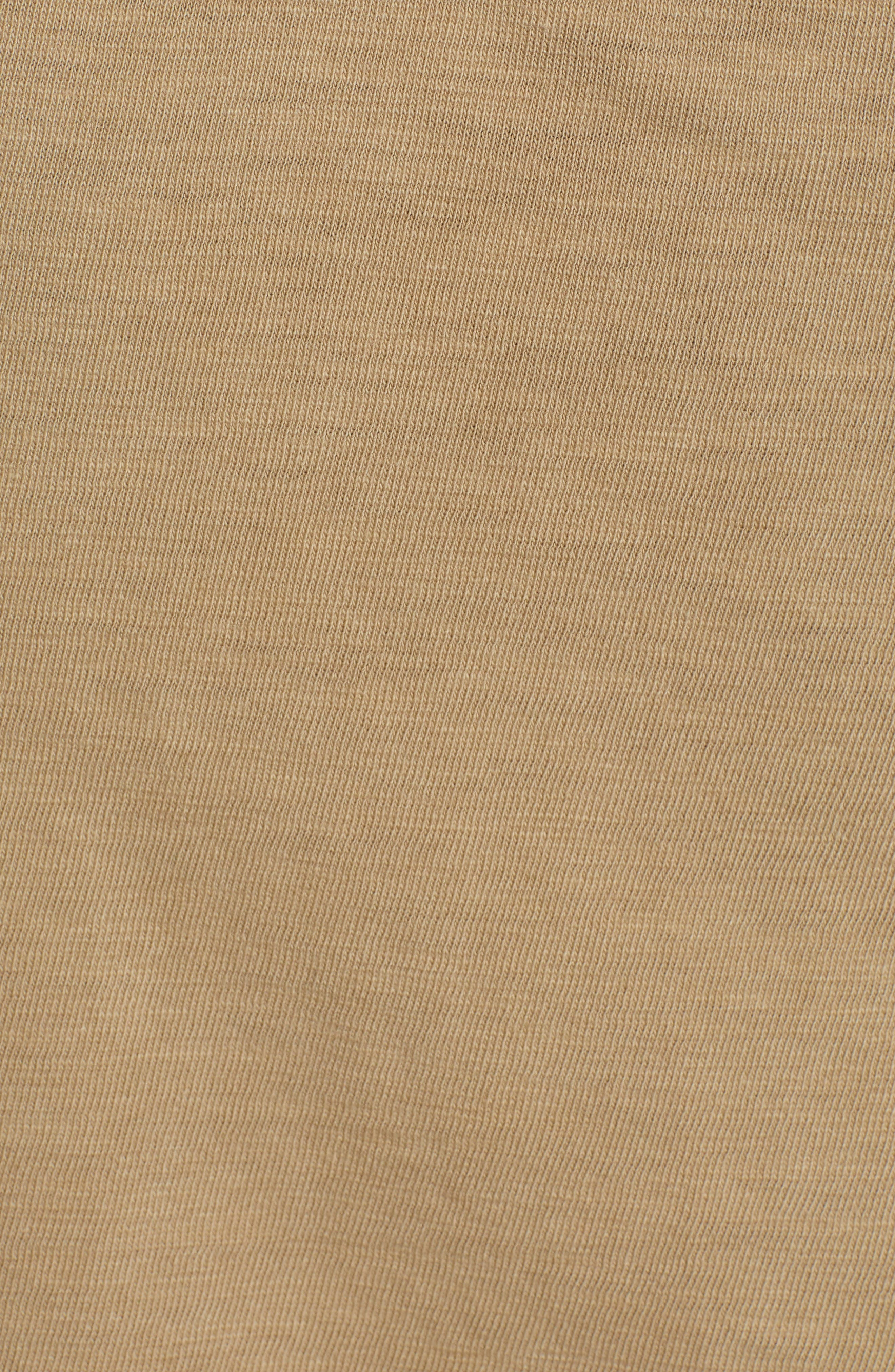 Two-Pocket Military Polo,                             Alternate thumbnail 5, color,                             BEIGE