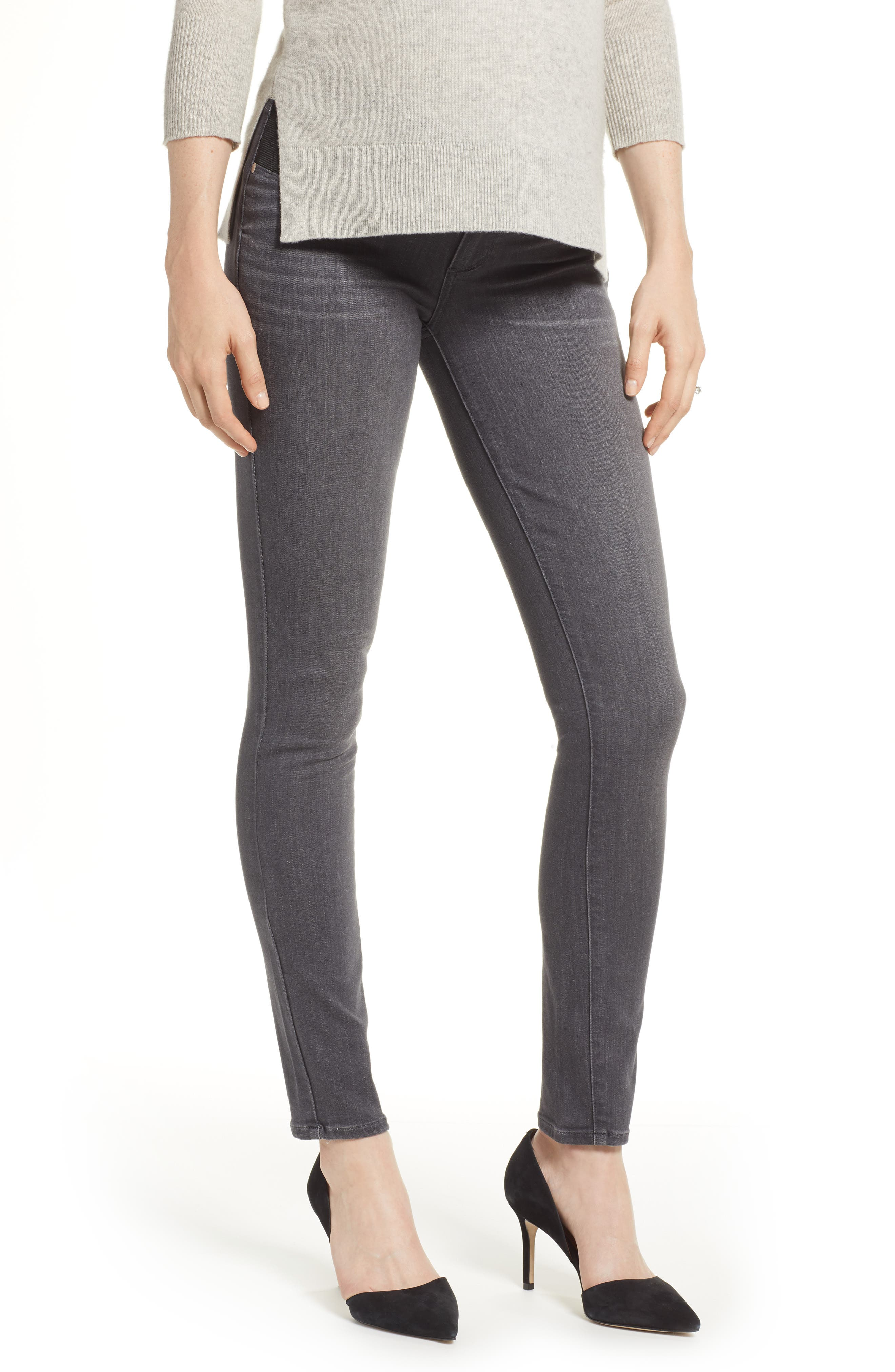 Transcend - Verdugo Maternity Skinny Jeans,                             Main thumbnail 1, color,                             GREY PEAKS