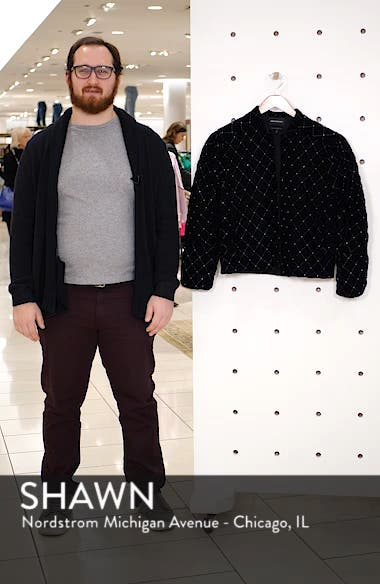 Quilted Velvet Jacket, sales video thumbnail