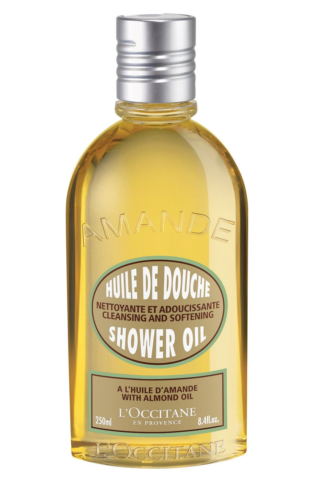 Almond Shower Oil,                             Main thumbnail 1, color,                             NO COLOR
