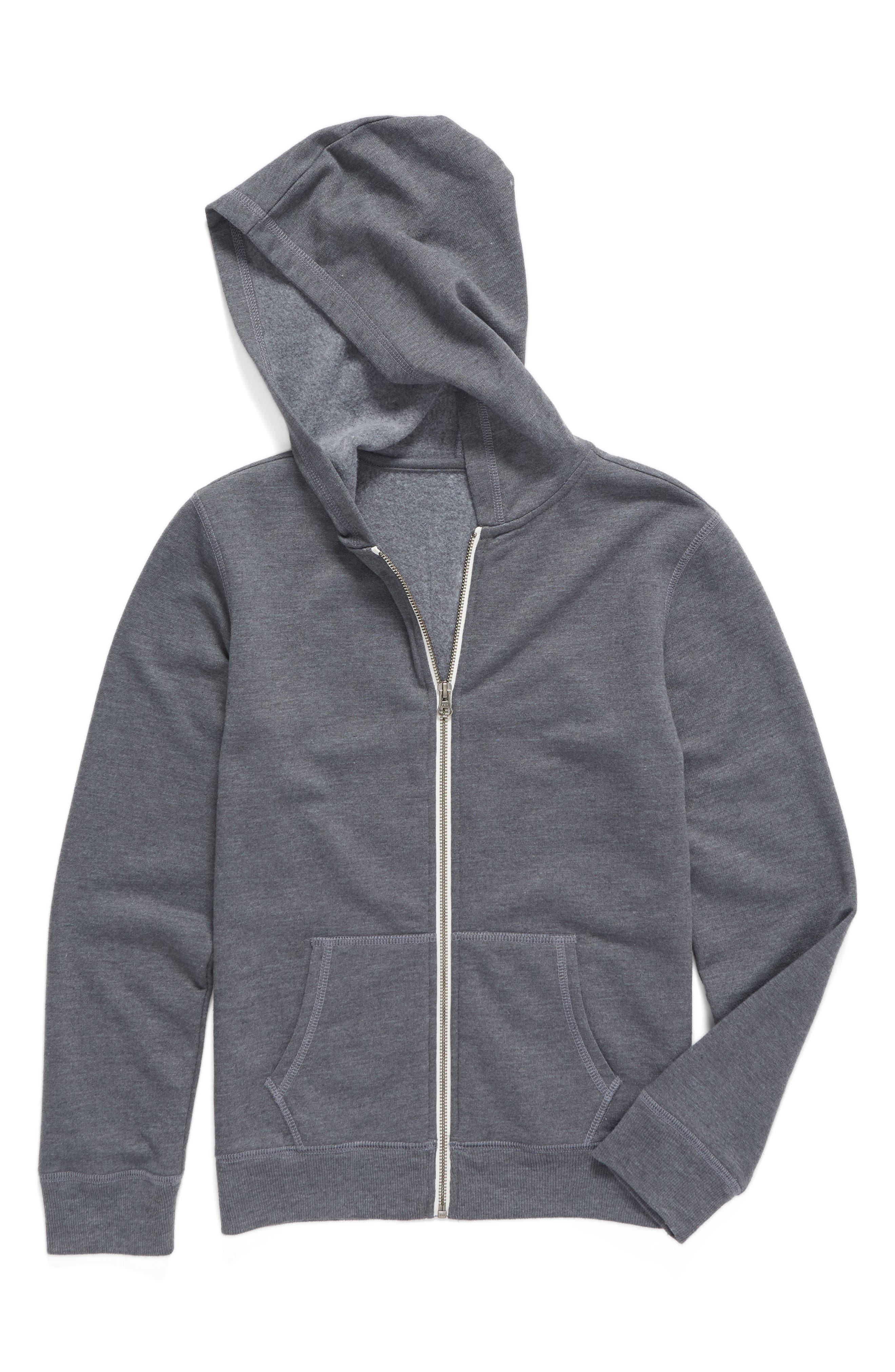 Zip-Up Hooded Sweatshirt,                             Main thumbnail 1, color,                             030