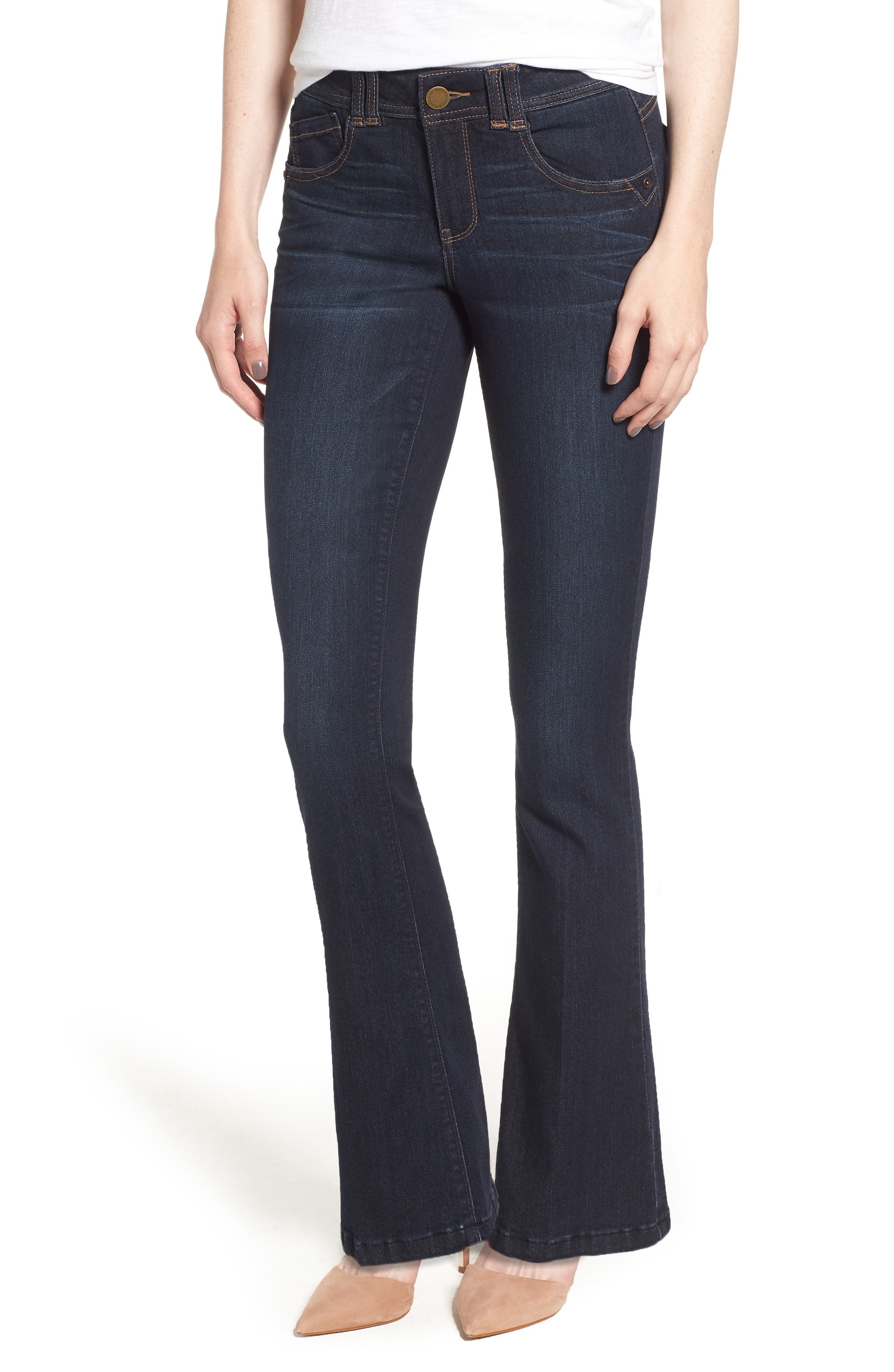 Ab-solution Itty Bitty Bootcut Jeans,                         Main,                         color, 402