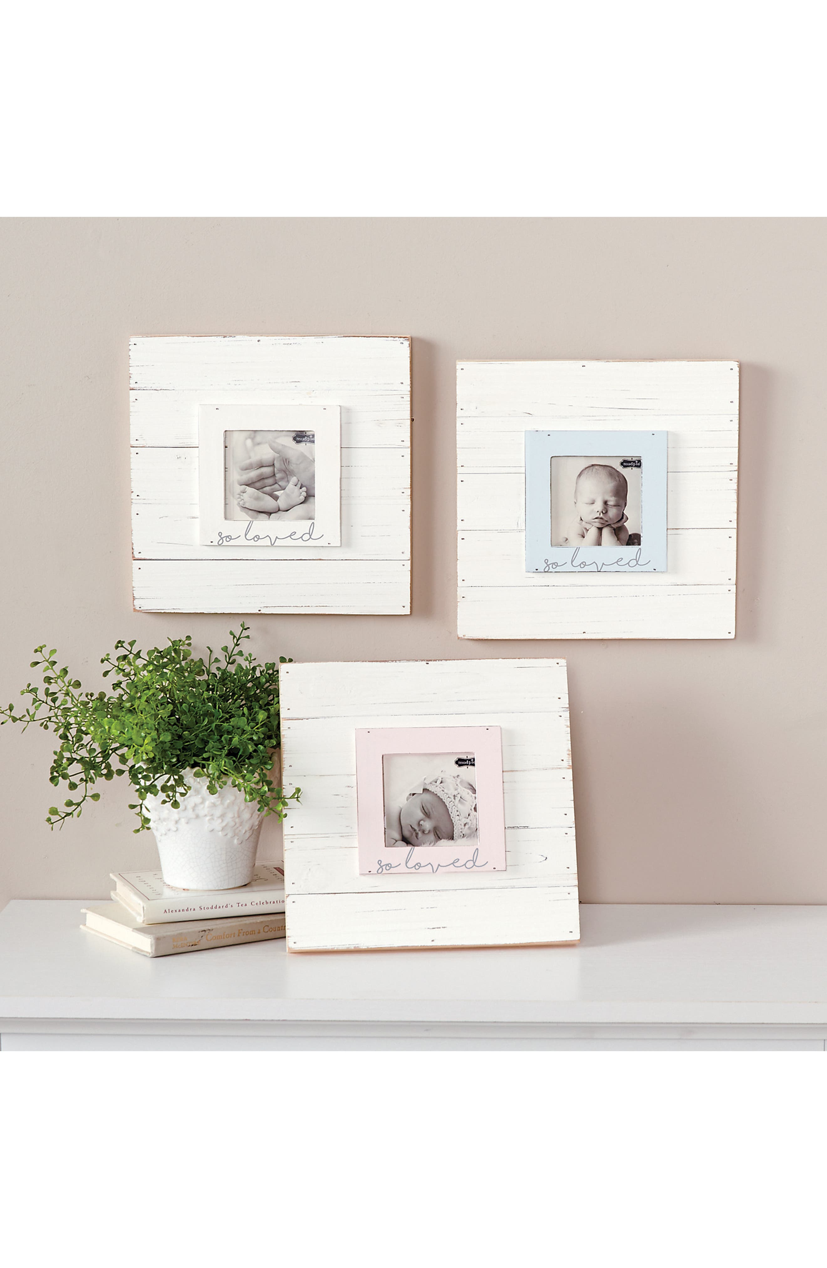 So Loved Wood Picture Frame,                             Alternate thumbnail 4, color,