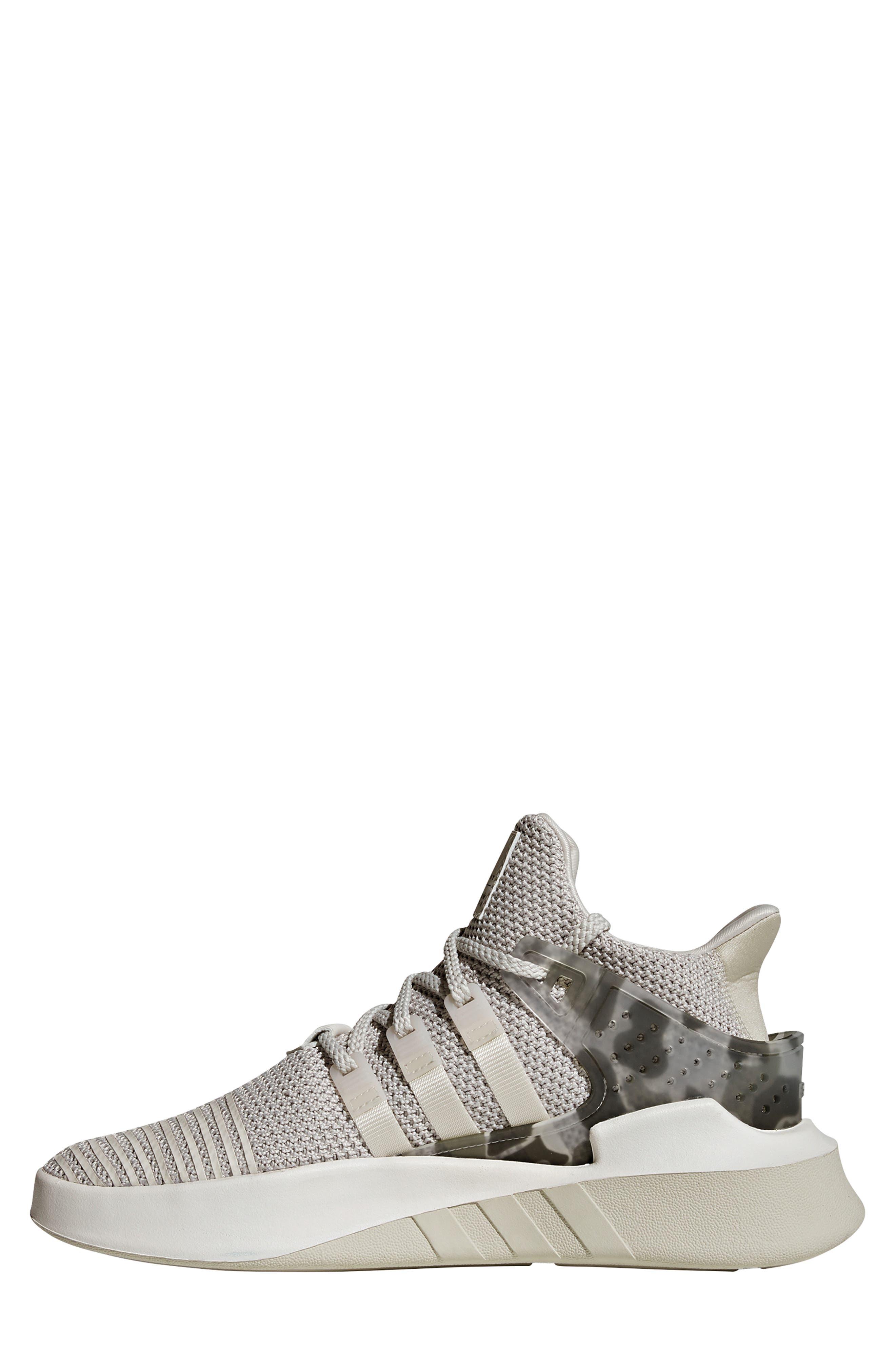 EQT Basketball ADV Sneaker,                             Alternate thumbnail 8, color,                             GREY/ CHALK WHITE