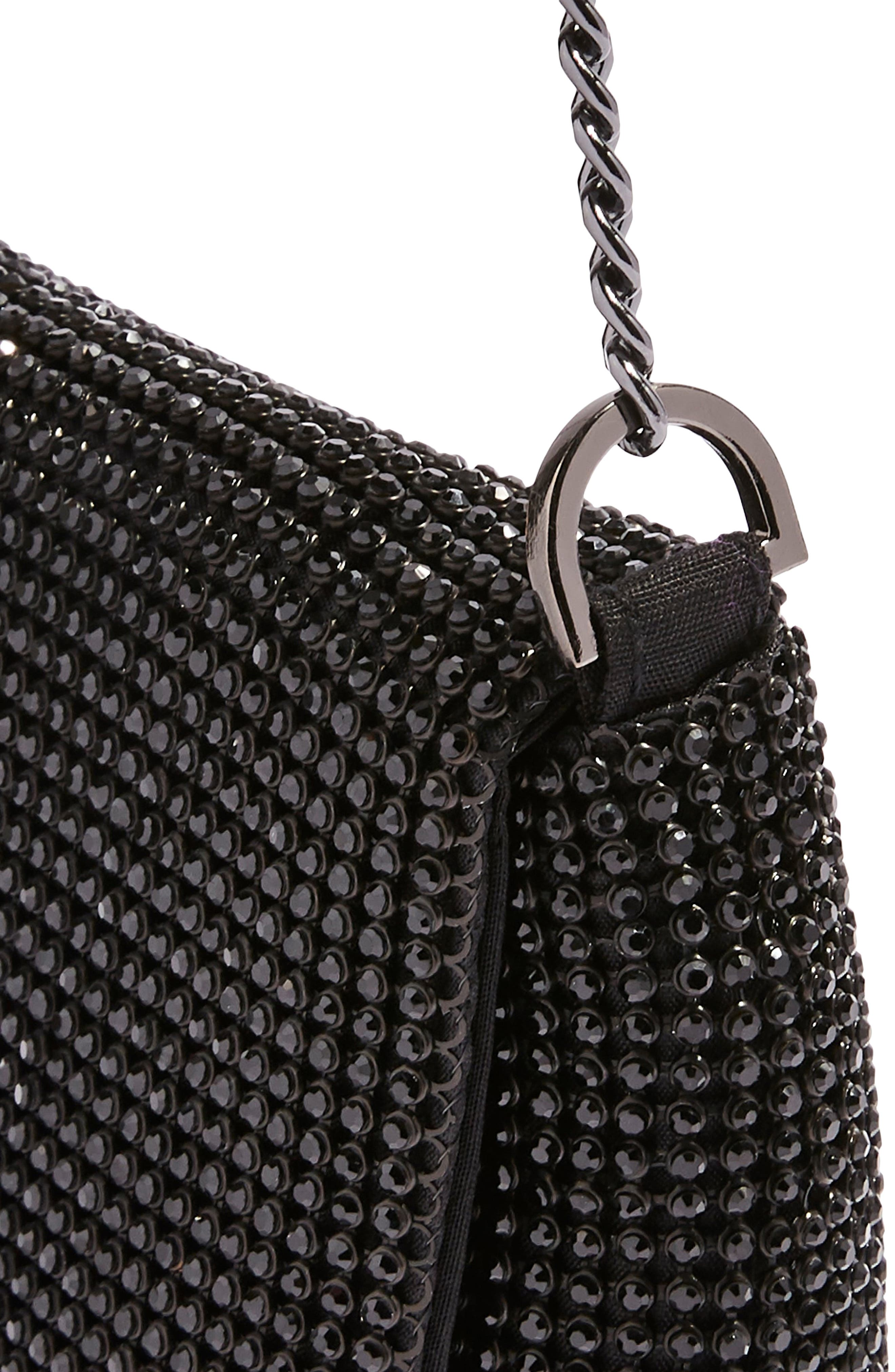New Diana Clutch Purse,                             Alternate thumbnail 3, color,                             BLACK