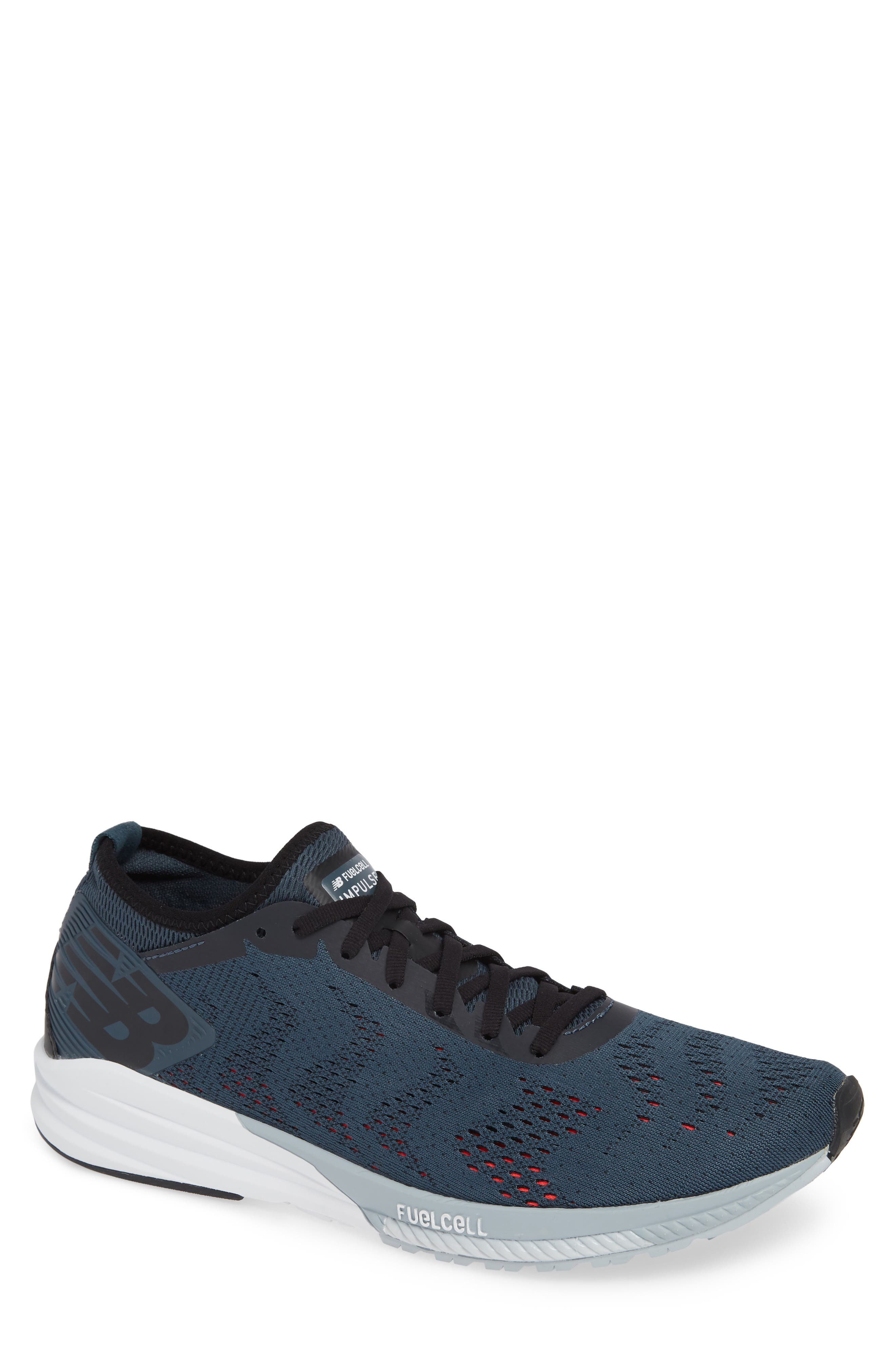 FuelCell Impulse Running Shoe,                         Main,                         color, PETROL