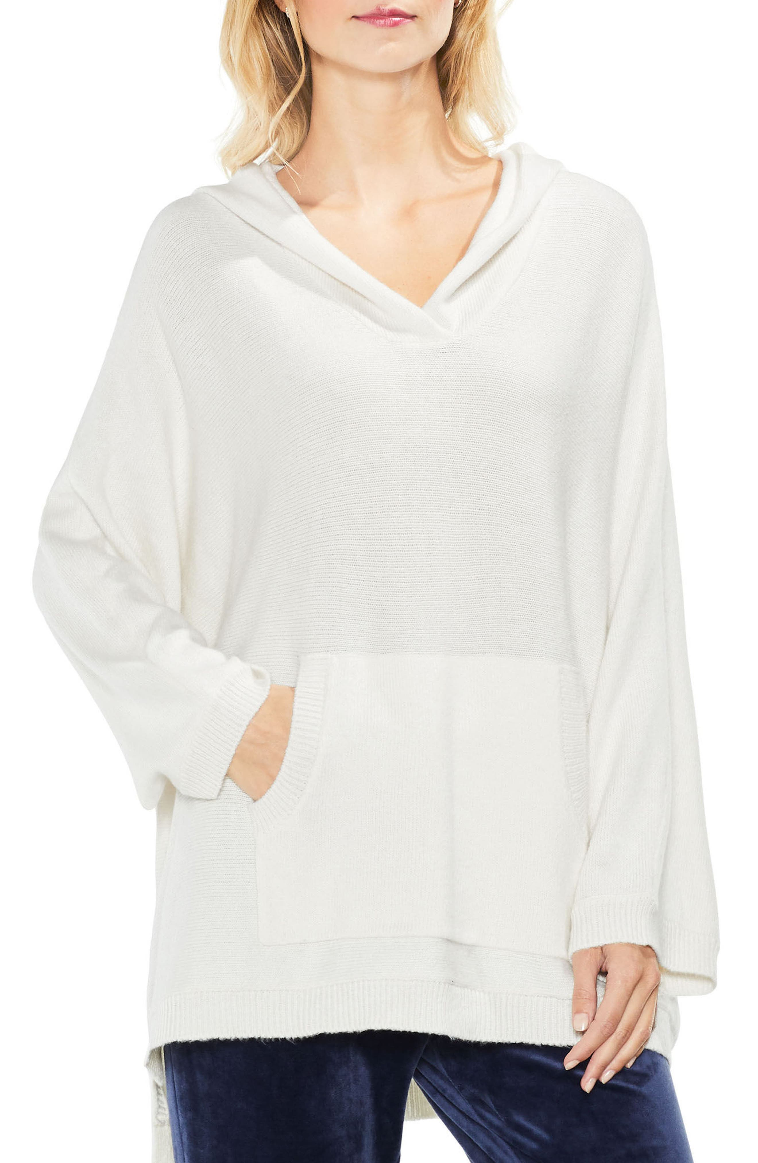 Dolman Sleeve Relaxed Hooded Sweater,                             Main thumbnail 2, color,