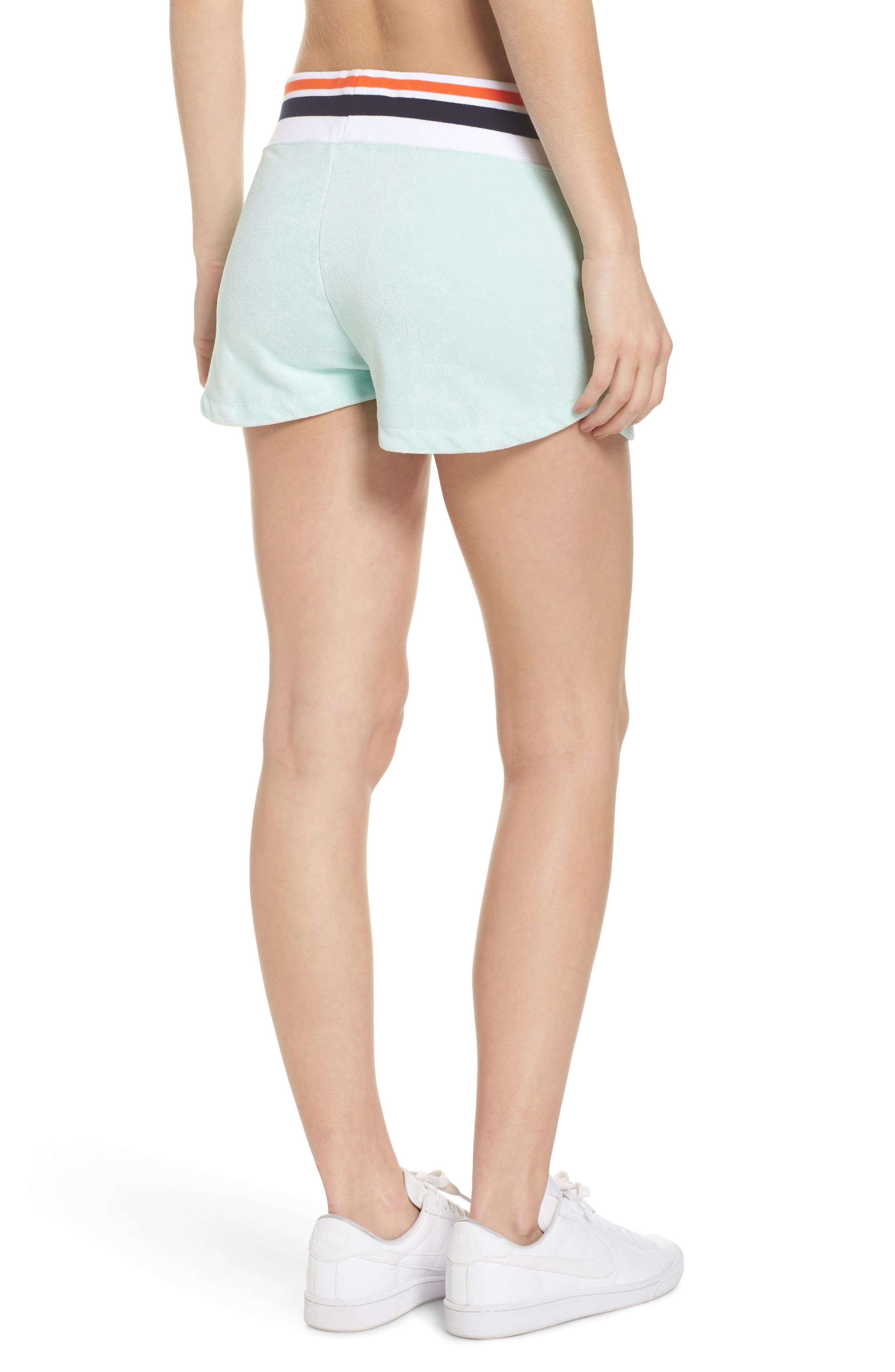 NIKE,                             Sportswear Terry Shorts,                             Alternate thumbnail 2, color,                             401