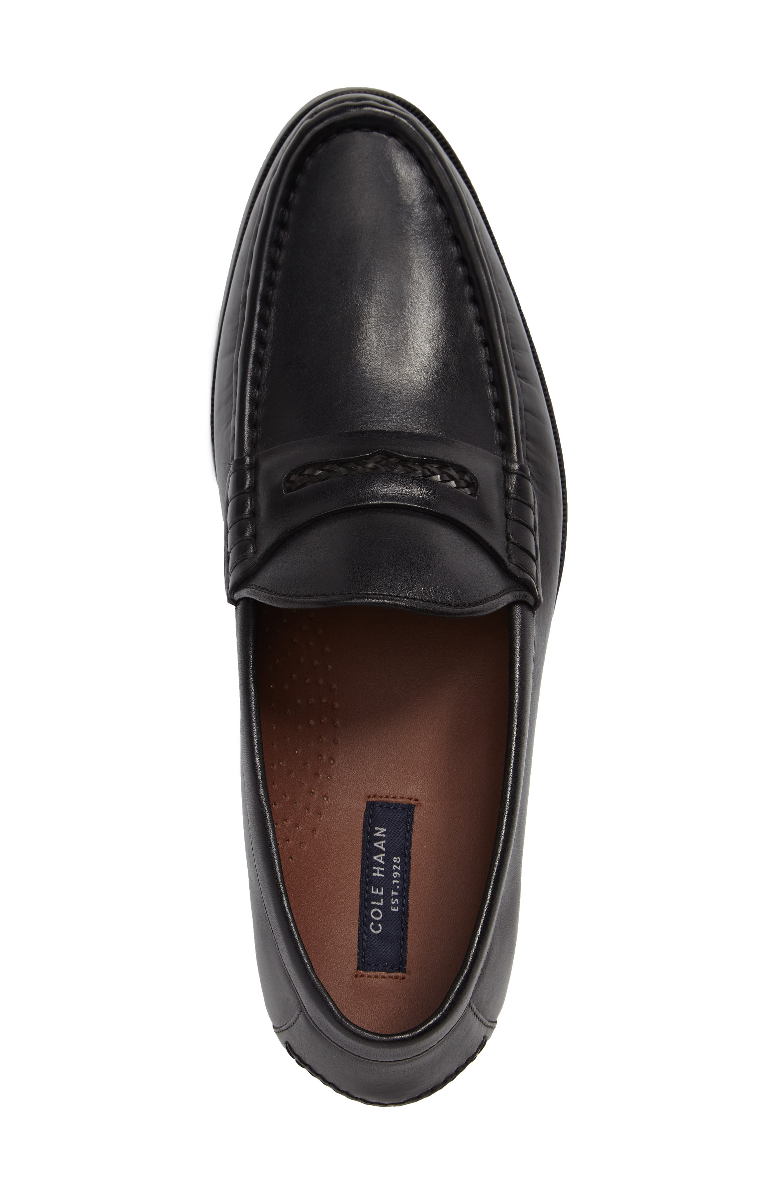 'Pinch Gotham' Penny Loafer,                             Alternate thumbnail 3, color,                             001
