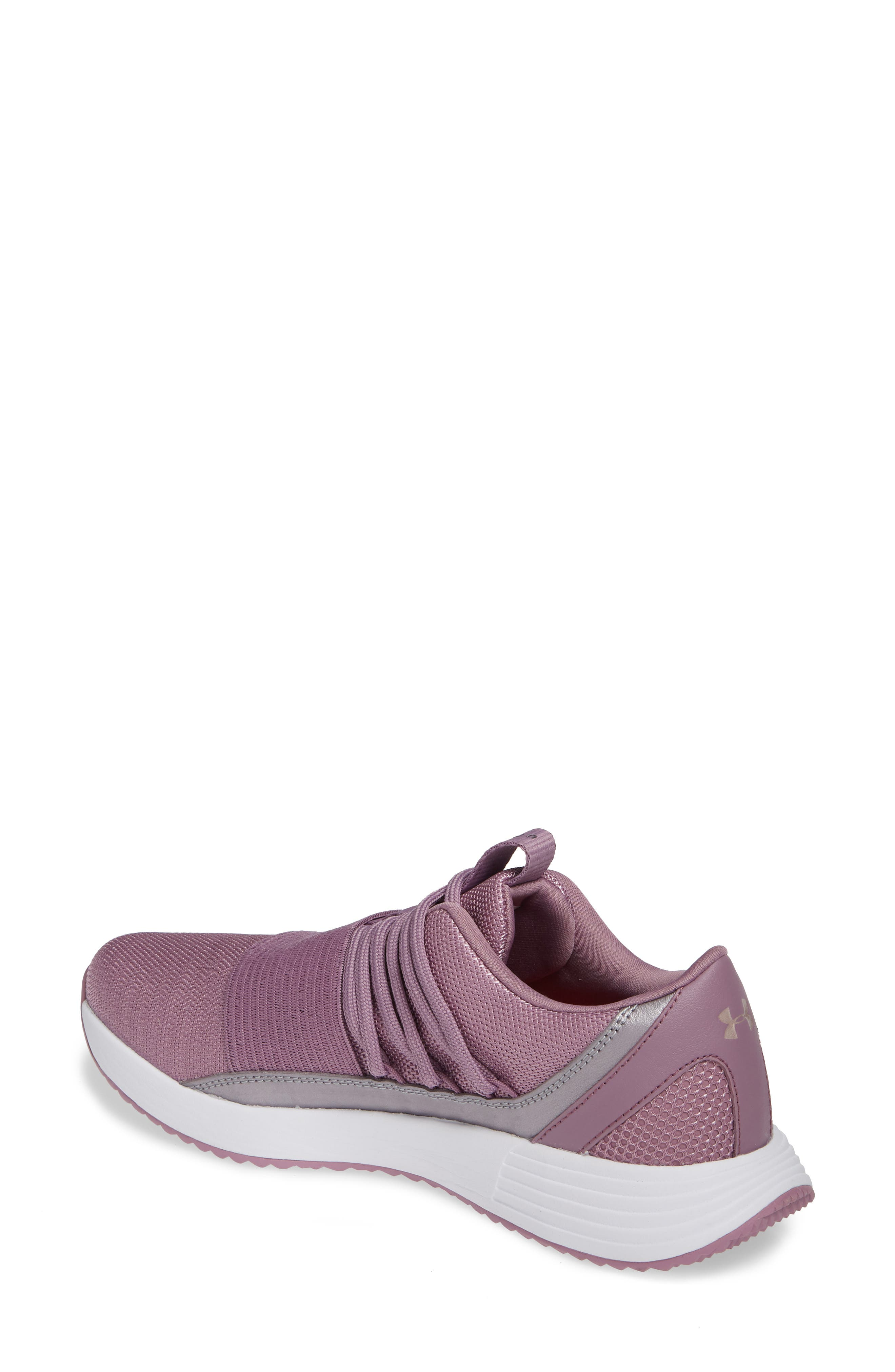 Breathe Lace X NM Sneaker,                             Alternate thumbnail 2, color,                             PURPLE PRIME/ WHITE/ WHITE