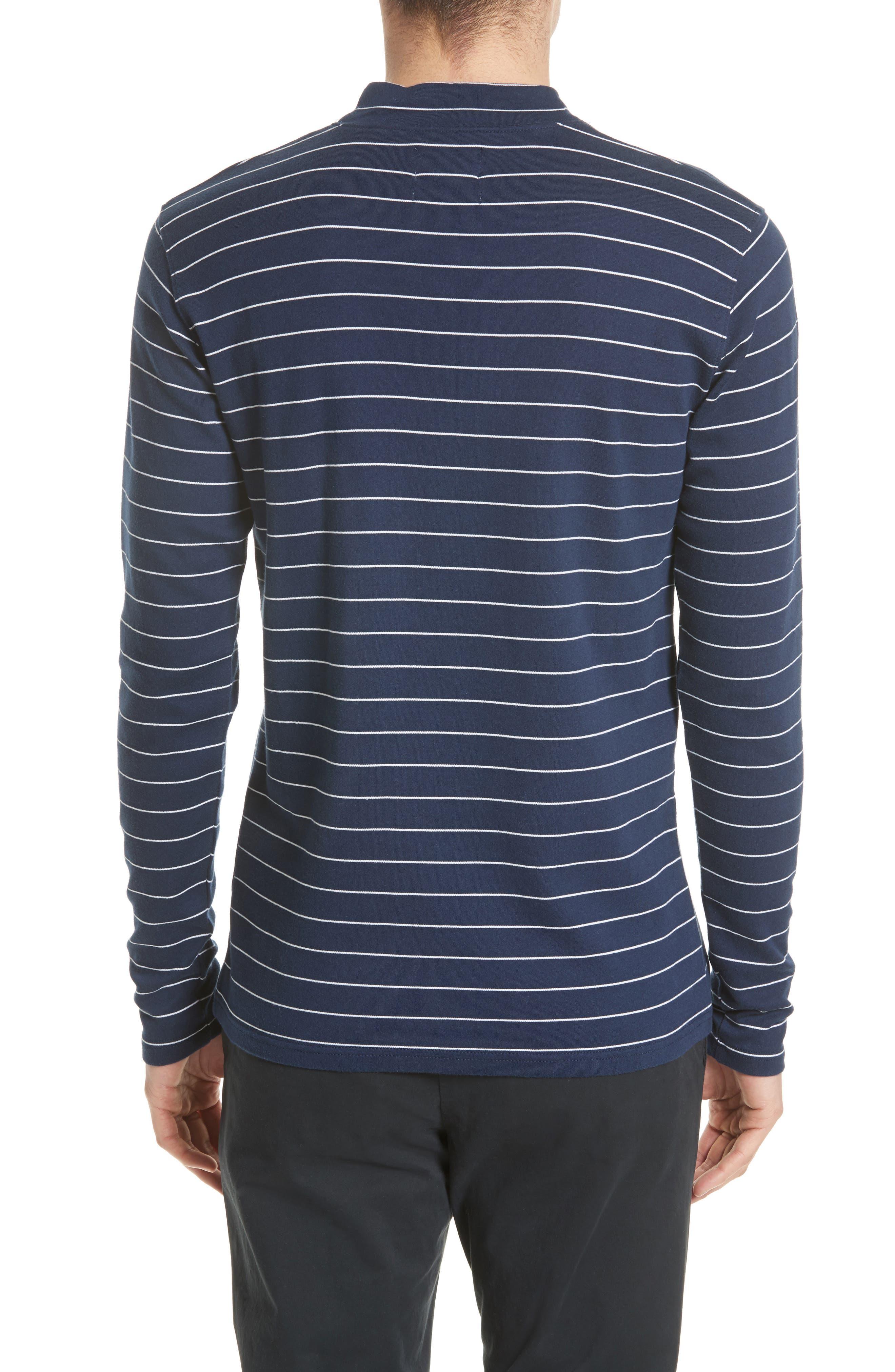 Harald Mock Neck T-Shirt,                             Alternate thumbnail 4, color,