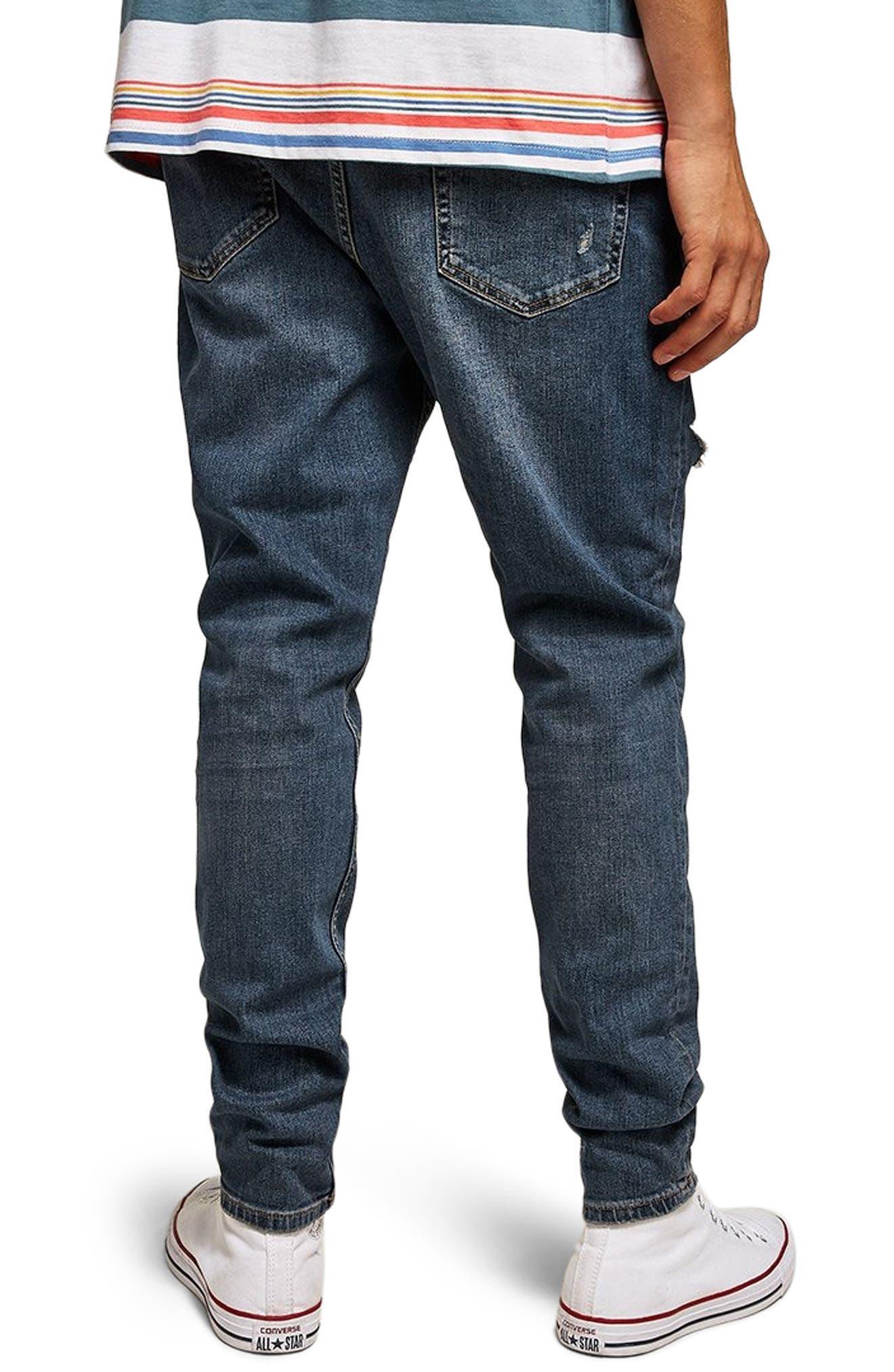 Taper Jeans,                             Alternate thumbnail 2, color,                             BLUE