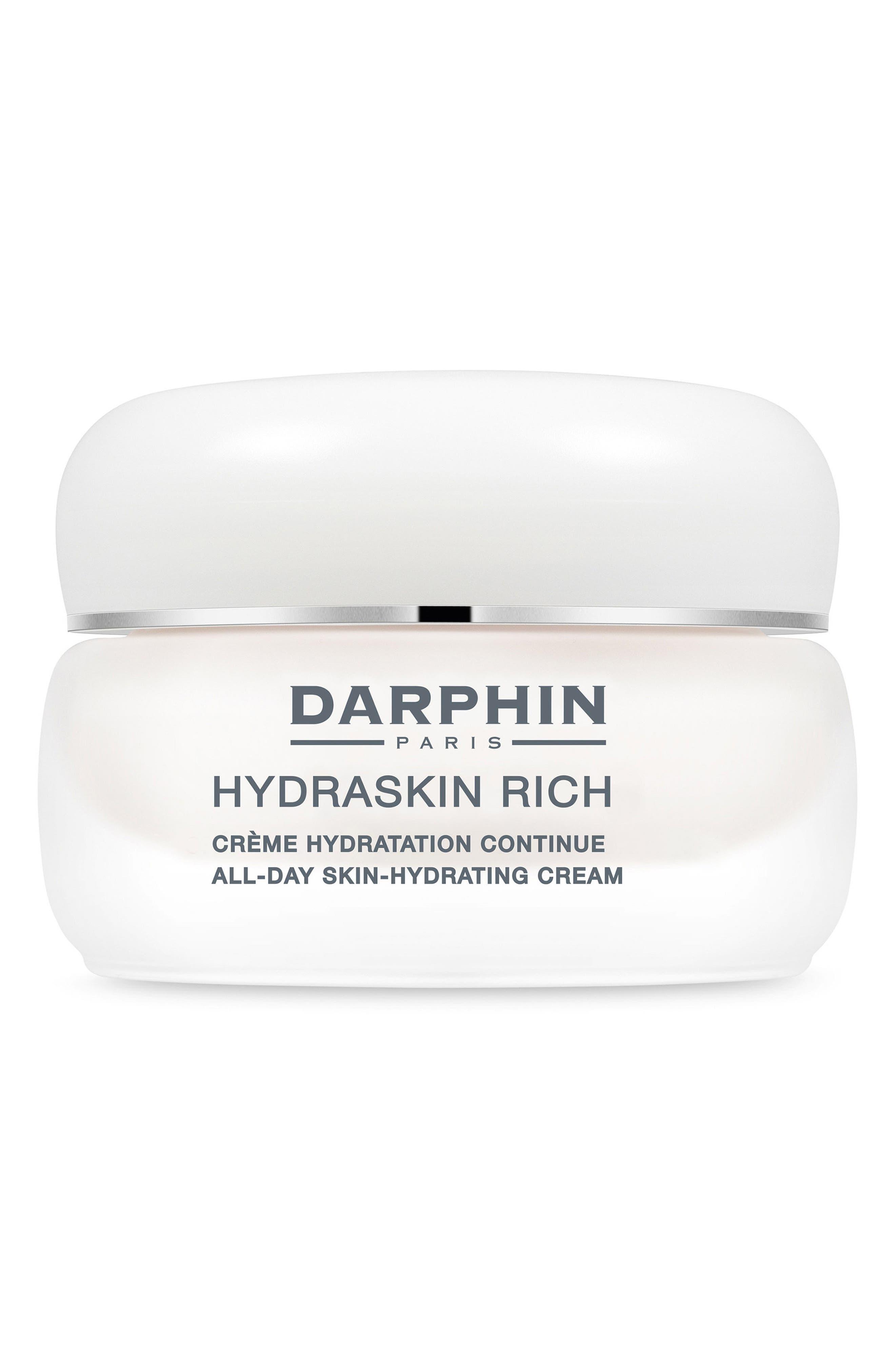 Hydraskin Rich All-Day Skin Hydrating Cream,                         Main,                         color, NO COLOR