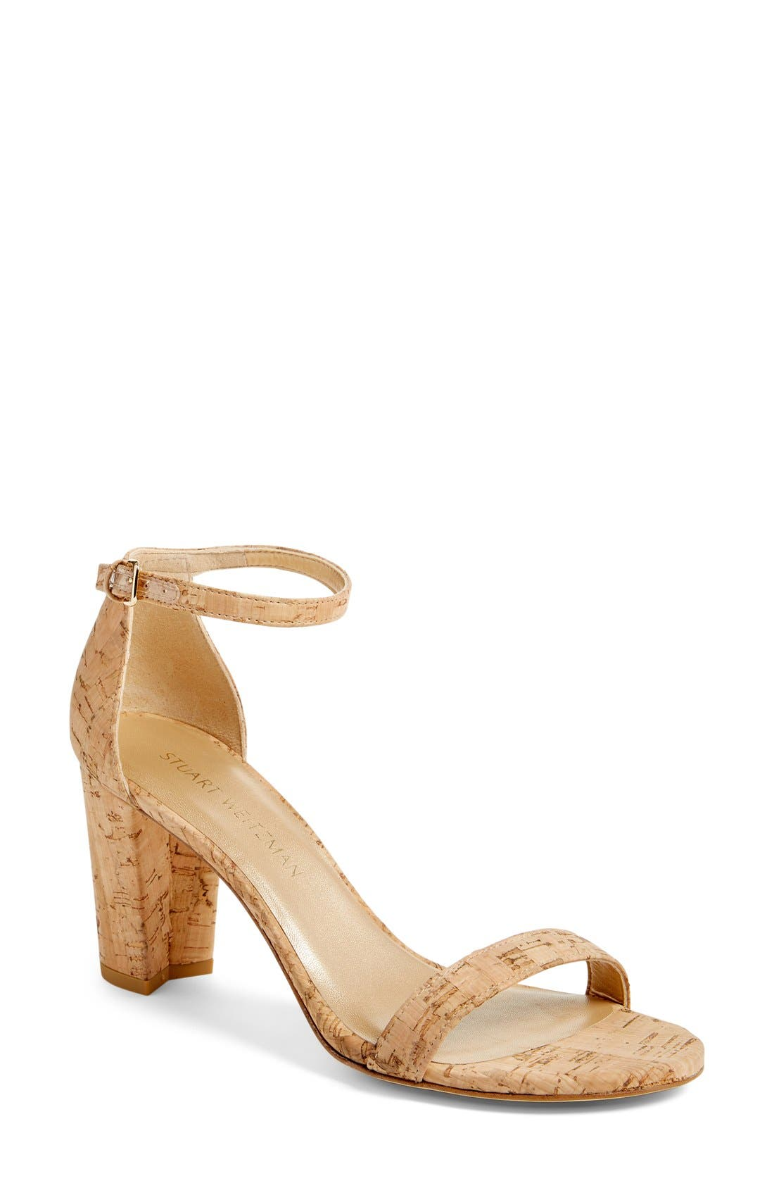 NearlyNude Ankle Strap Sandal,                             Main thumbnail 22, color,