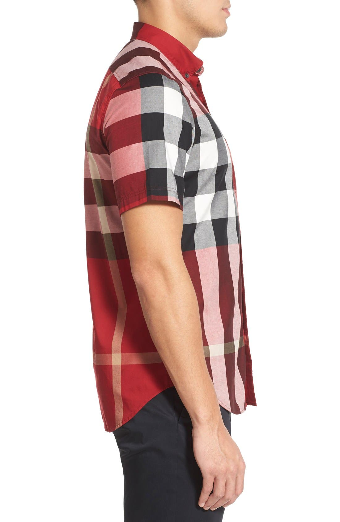 Nelson Check Sport Shirt,                             Alternate thumbnail 72, color,