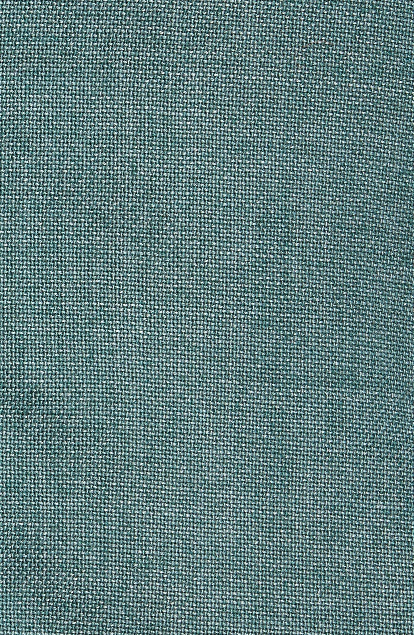 BOGLIOLI,                             Slim Fit Hopsack Wool Blend Sport Coat,                             Alternate thumbnail 6, color,                             FORREST GREEN