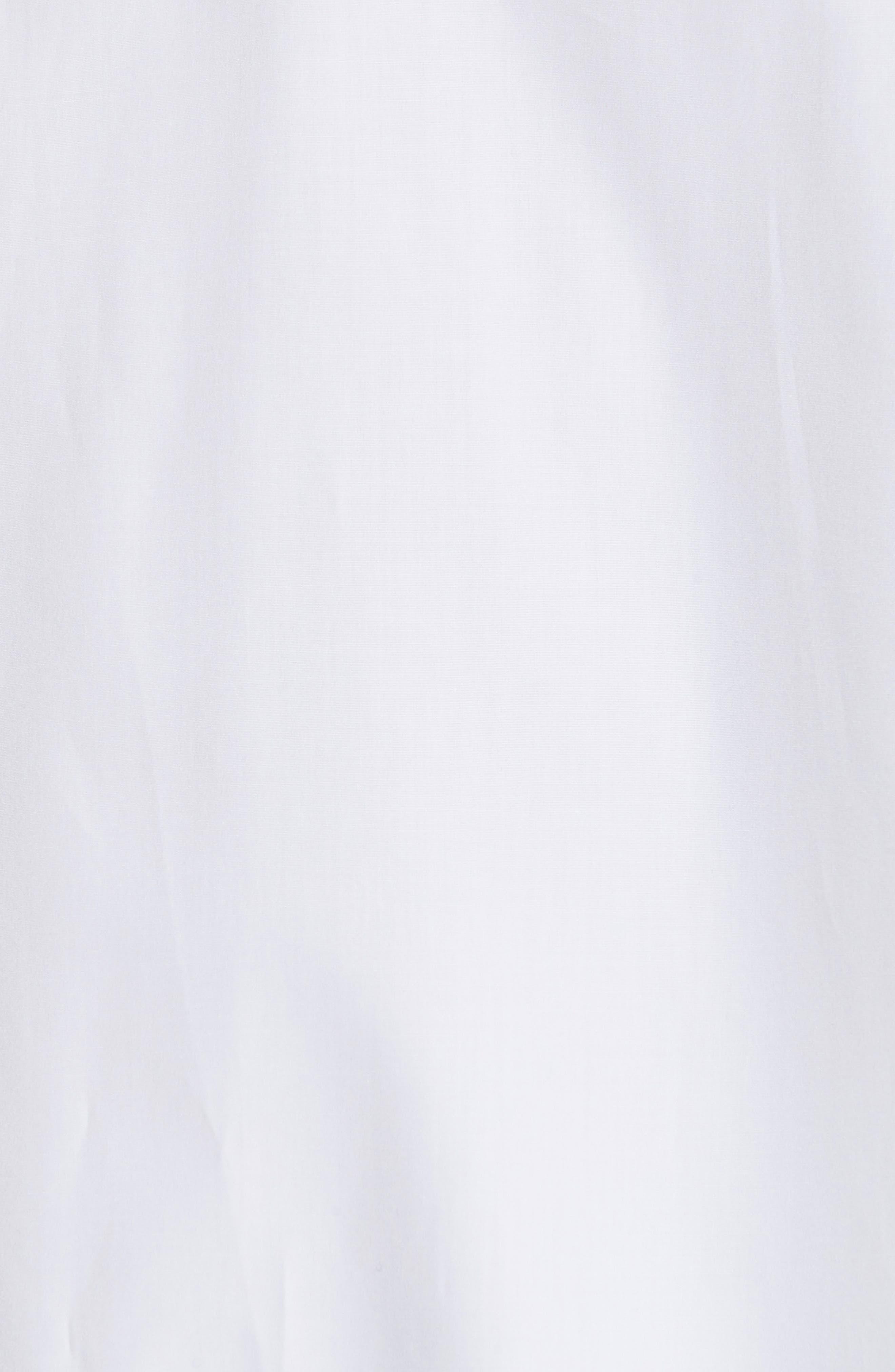 Blouson Hem Shirt,                             Alternate thumbnail 5, color,                             100