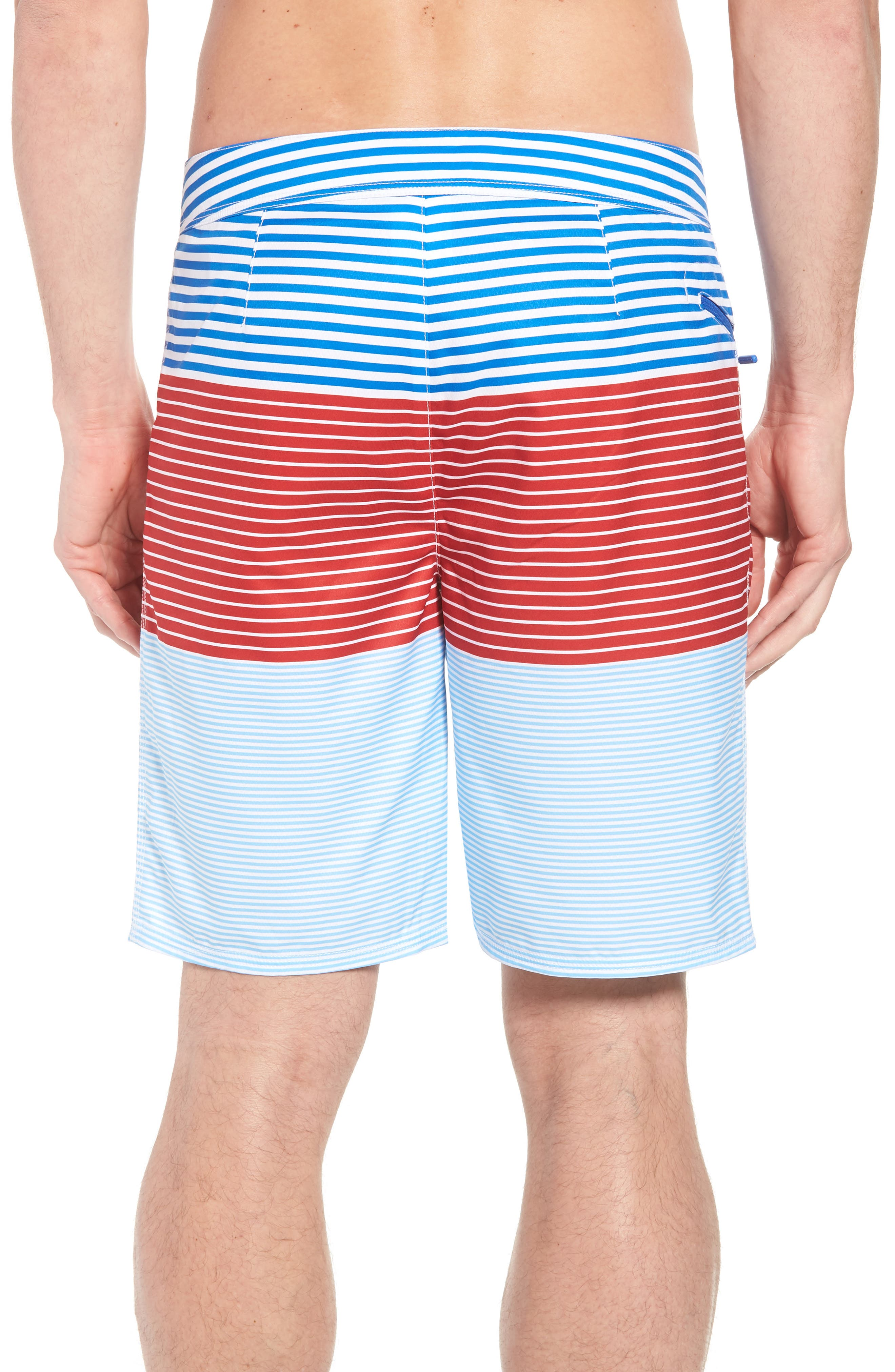 Whale Harbor Stripe Board Shorts,                             Alternate thumbnail 2, color,                             427