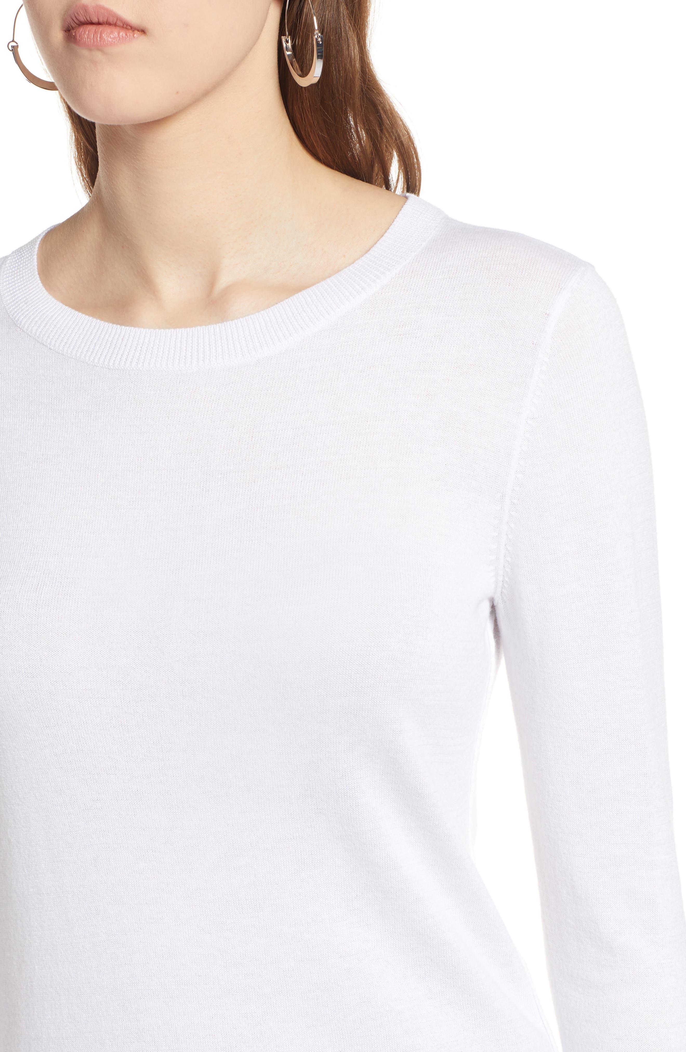 Cotton Blend Pullover,                             Alternate thumbnail 92, color,
