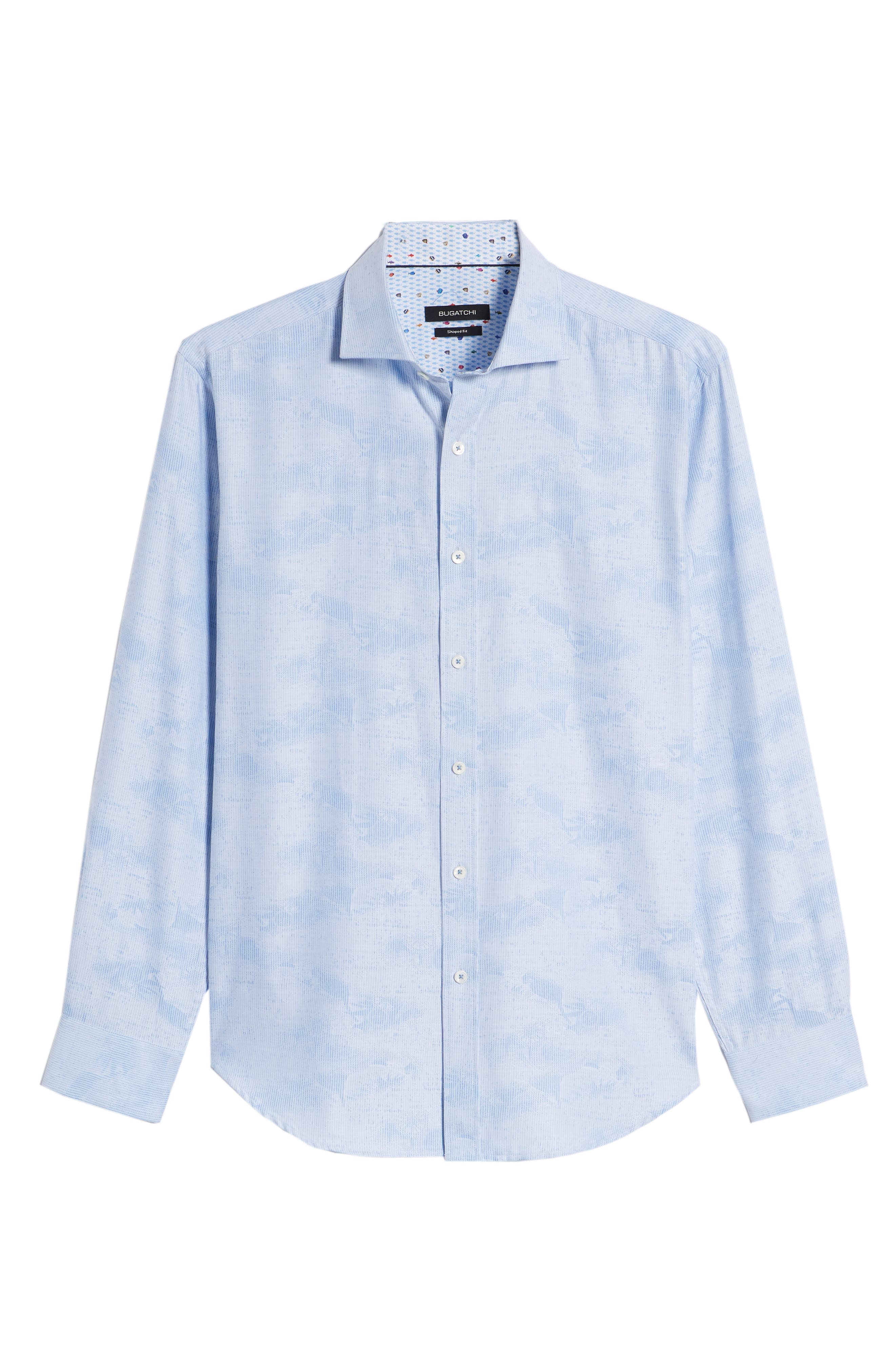 Woven Sport Shirt,                             Alternate thumbnail 6, color,                             459