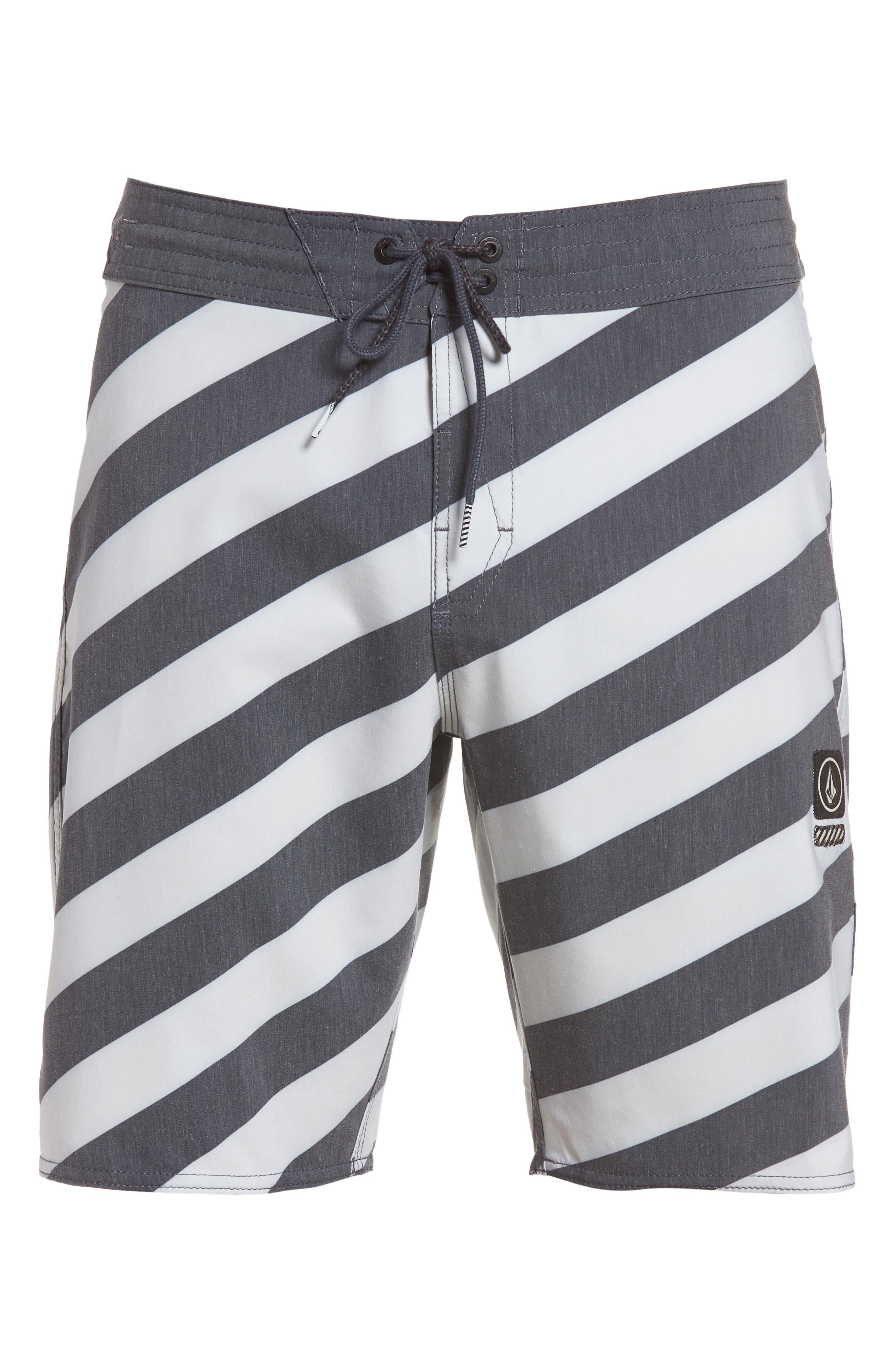Stripey Slinger Board Shorts,                             Alternate thumbnail 40, color,