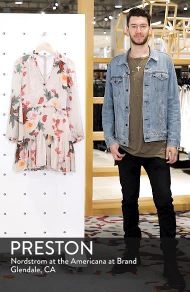 Rosa Floral Chiffon Dress, sales video thumbnail