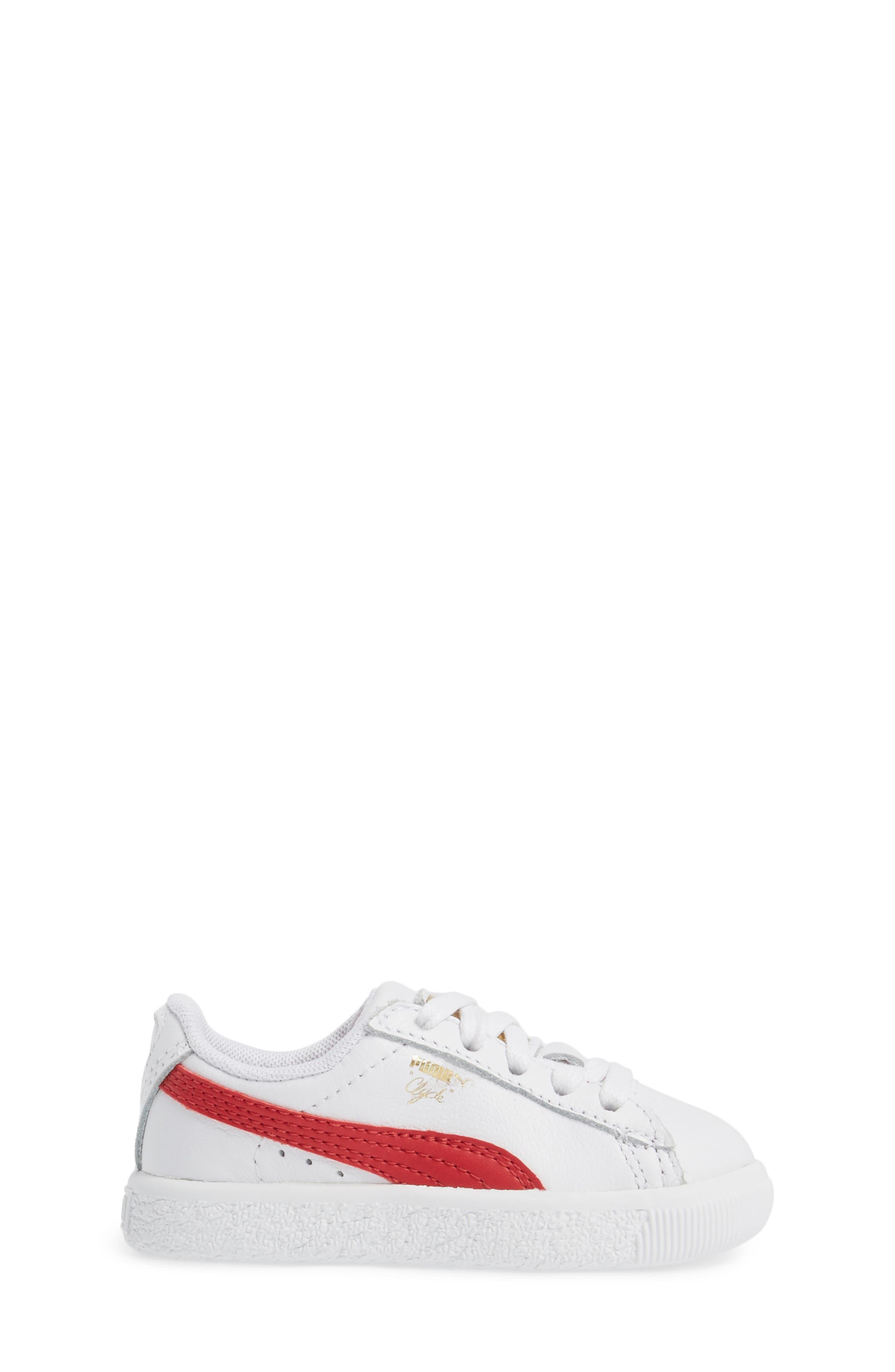 Clyde Core Foil Sneaker,                             Alternate thumbnail 18, color,