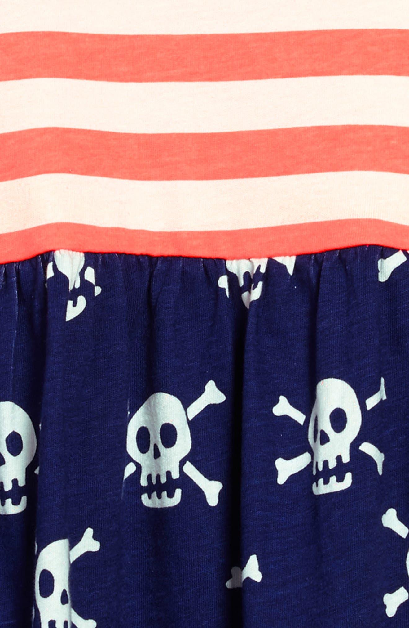 Hotchpotch Jersey Dress,                             Alternate thumbnail 3, color,                             404