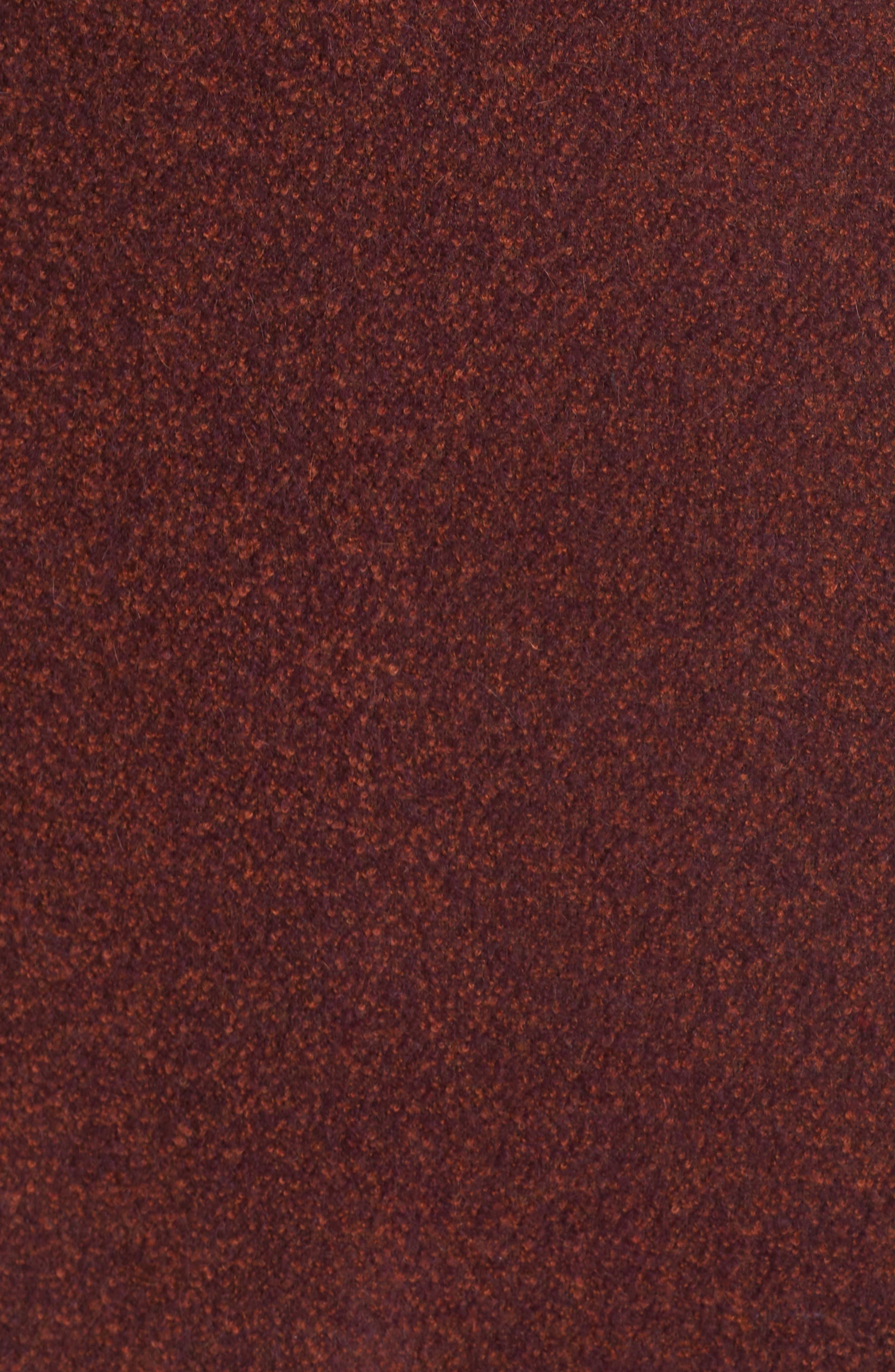 FLEURETTE,                             Double Breasted Alpaca Blend Coat,                             Alternate thumbnail 7, color,                             603