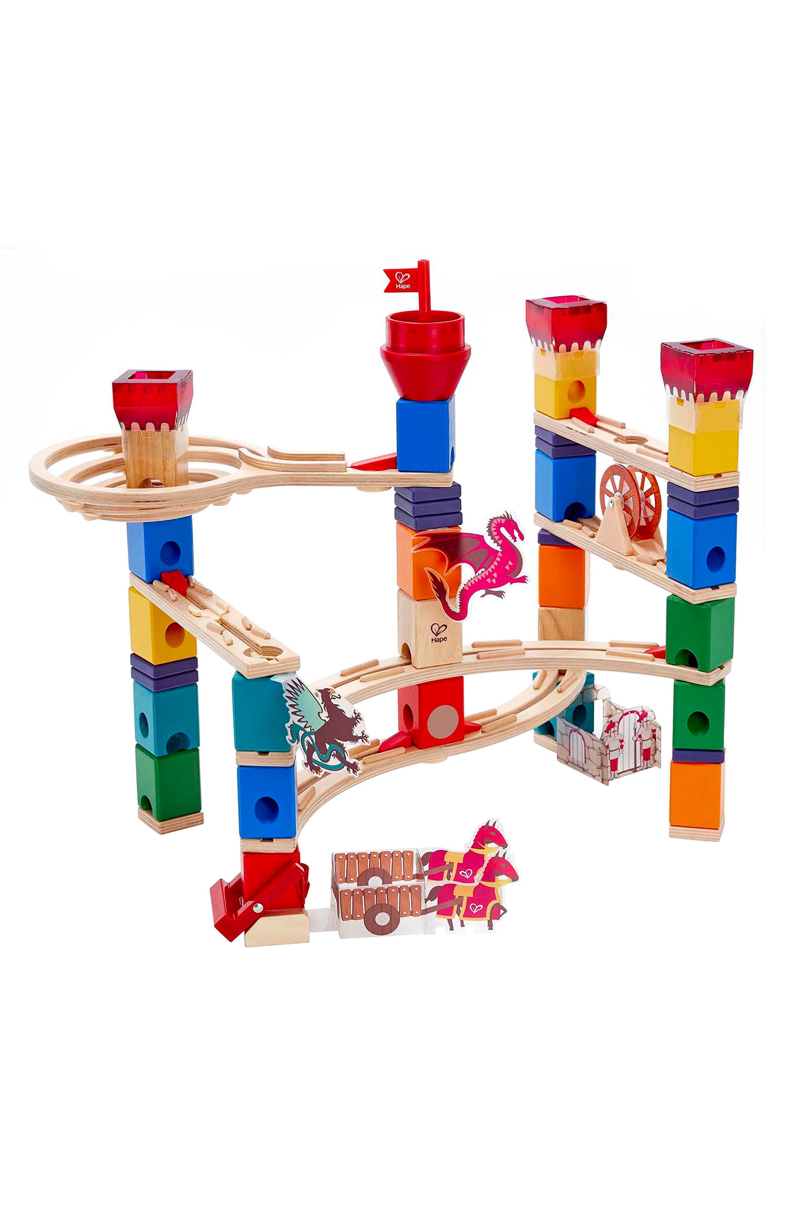 Medieval Quest Quadrilla Marble Run,                             Alternate thumbnail 3, color,                             600