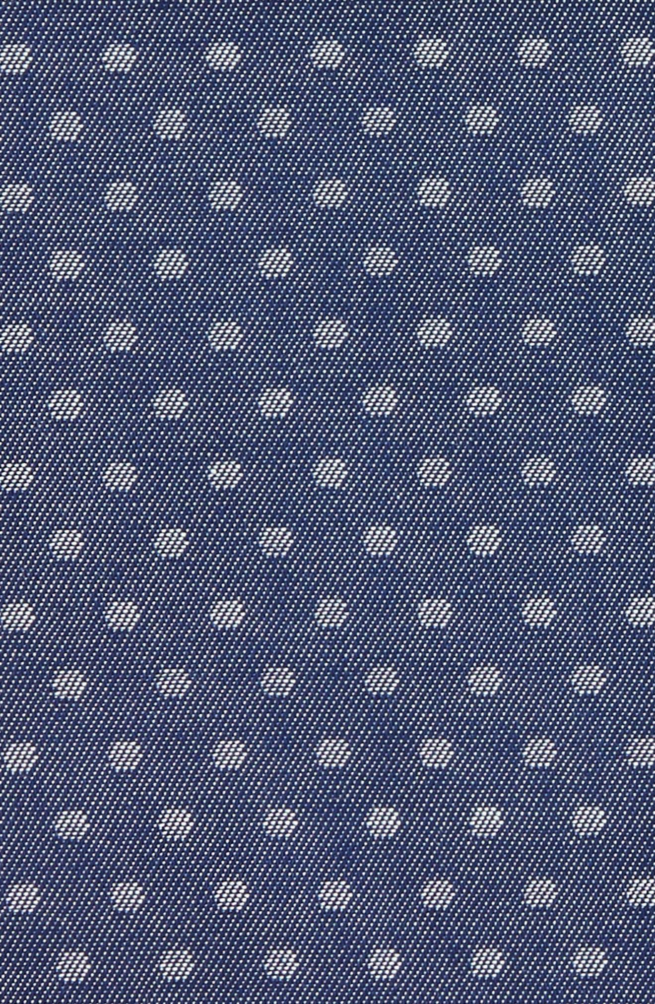 Polka Dot Silk Pocket Square,                             Alternate thumbnail 3, color,                             400