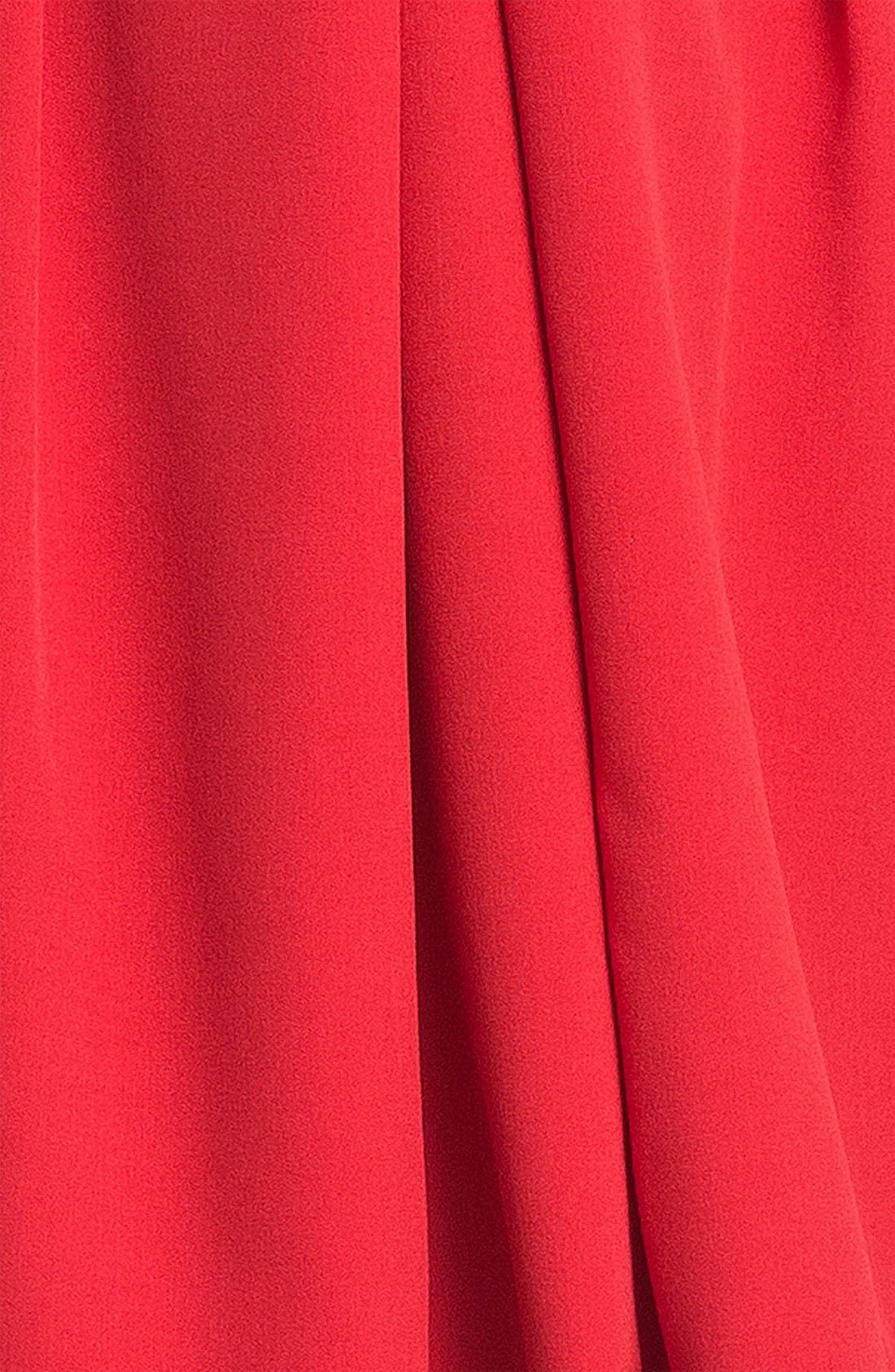 ADRIANNA PAPELL,                             Seamed A-Line Dress,                             Alternate thumbnail 3, color,                             600