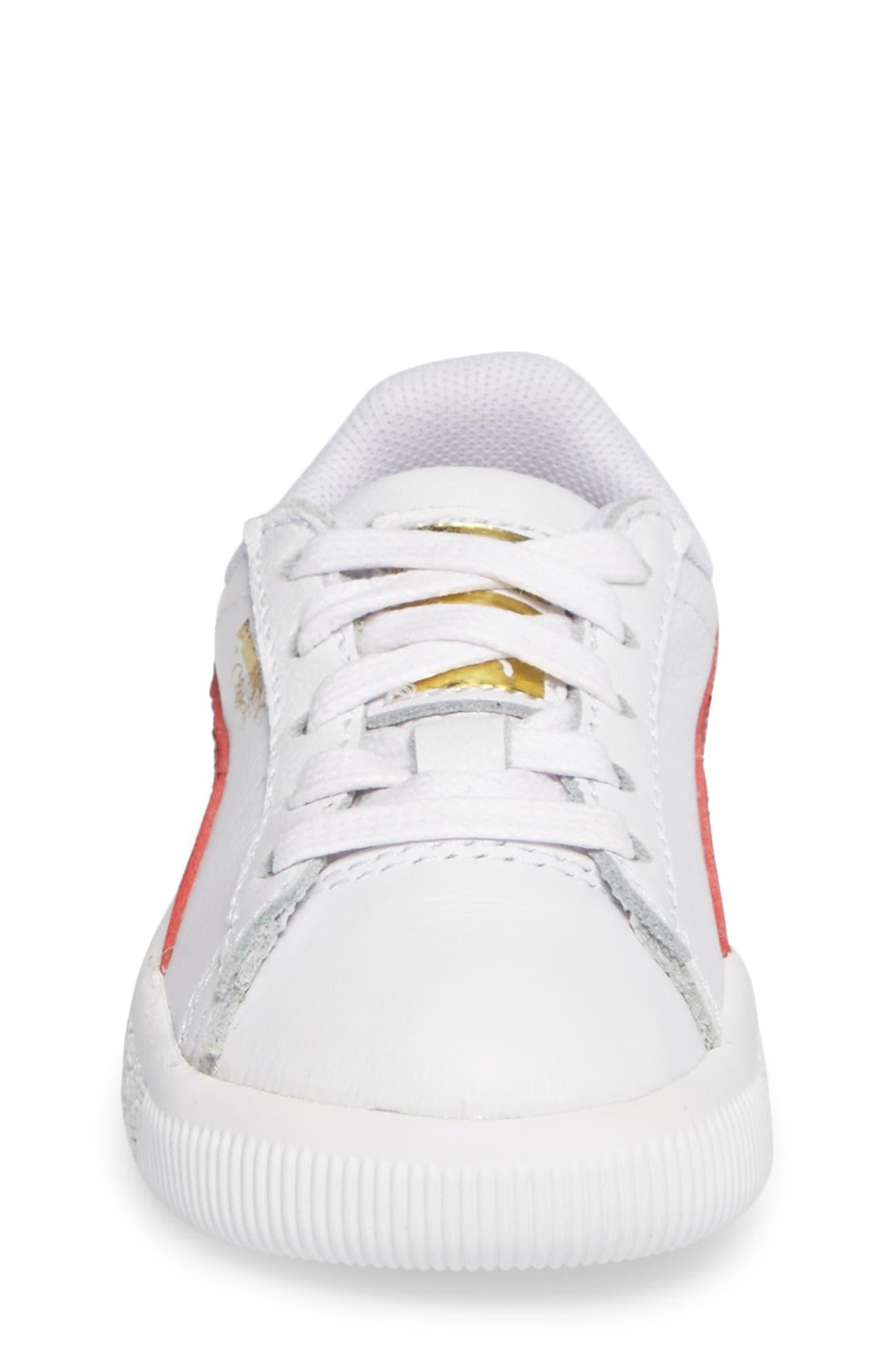 Clyde Core Foil Sneaker,                             Alternate thumbnail 24, color,