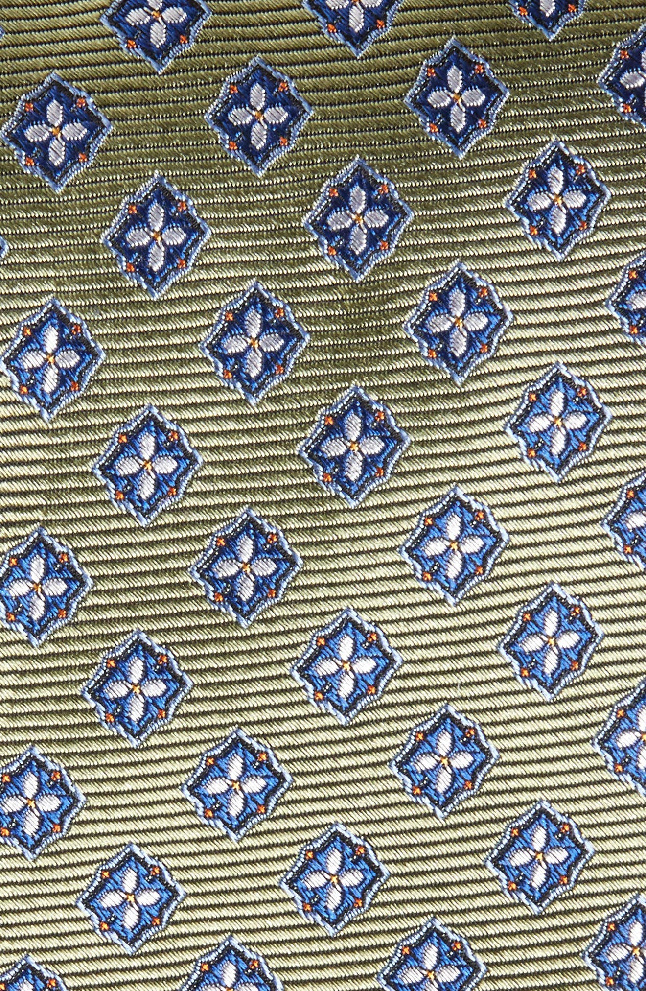 Medallion Silk Tie,                             Alternate thumbnail 2, color,                             300