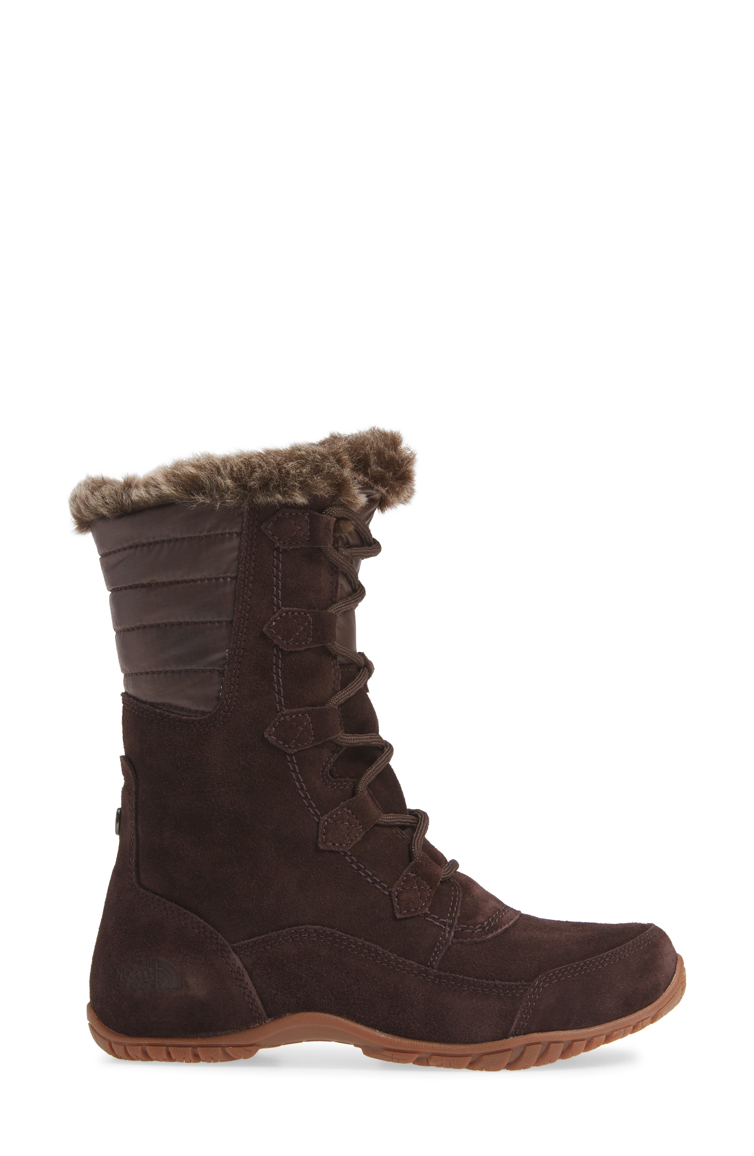 Nuptse Purna II Waterproof PrimaLoft<sup>®</sup> Silver Eco Insulated Winter Boot,                             Alternate thumbnail 3, color,                             201