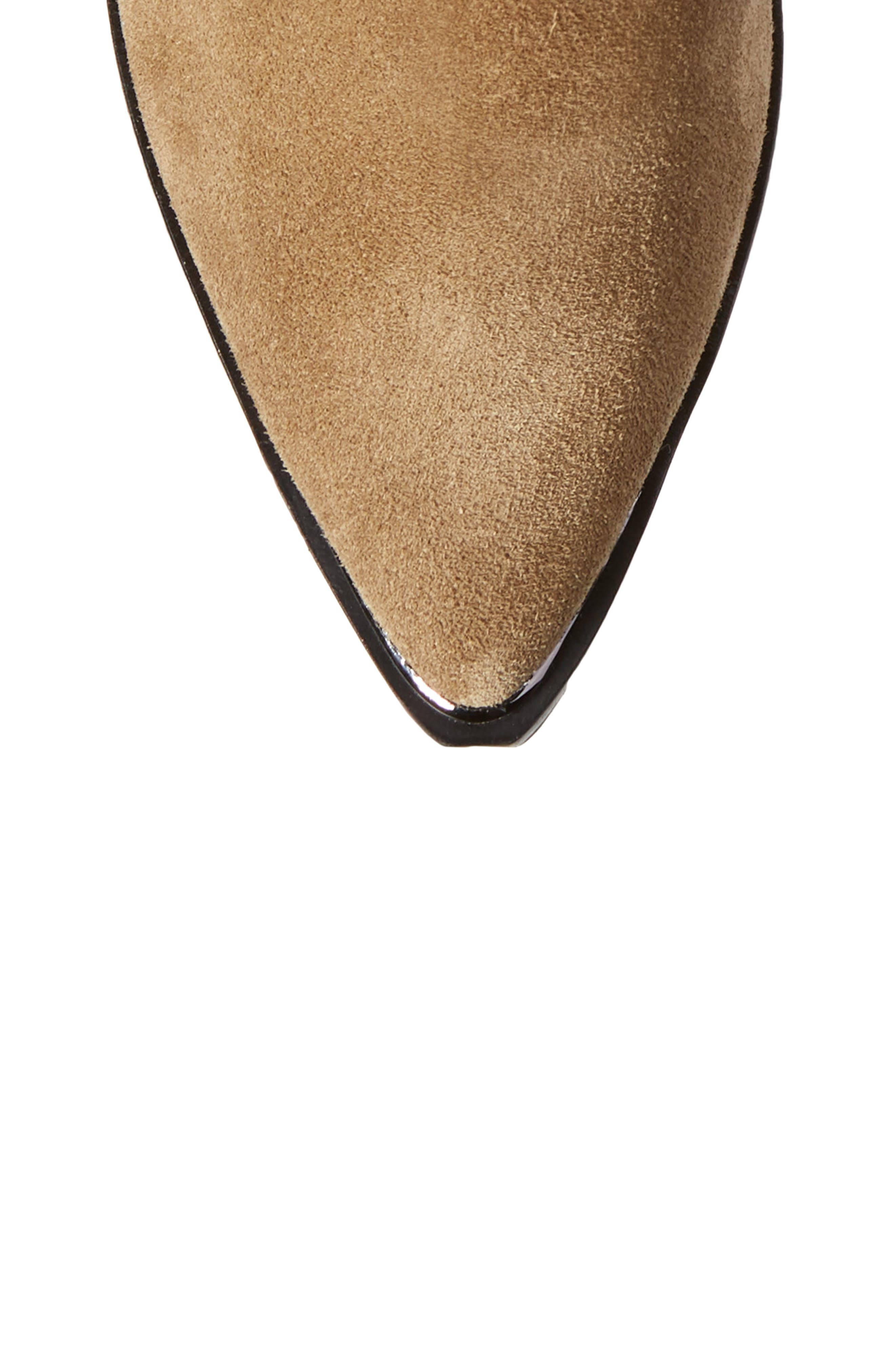 Yohani Bootie,                             Alternate thumbnail 5, color,                             TAUPE SUEDE