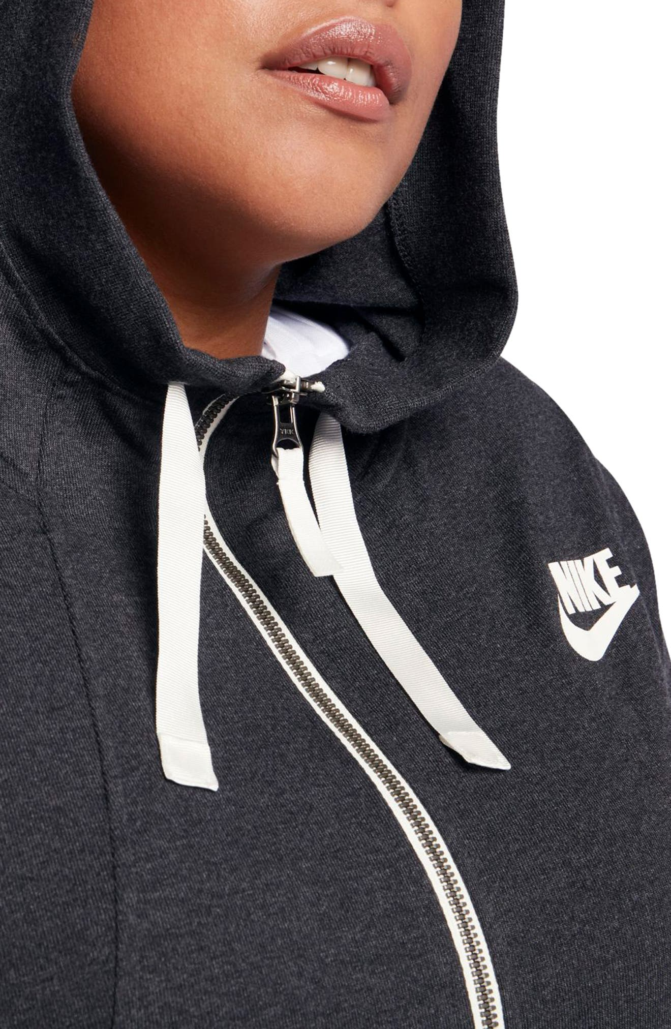 Sportswear Gym Classic Hoodie,                             Alternate thumbnail 4, color,                             001